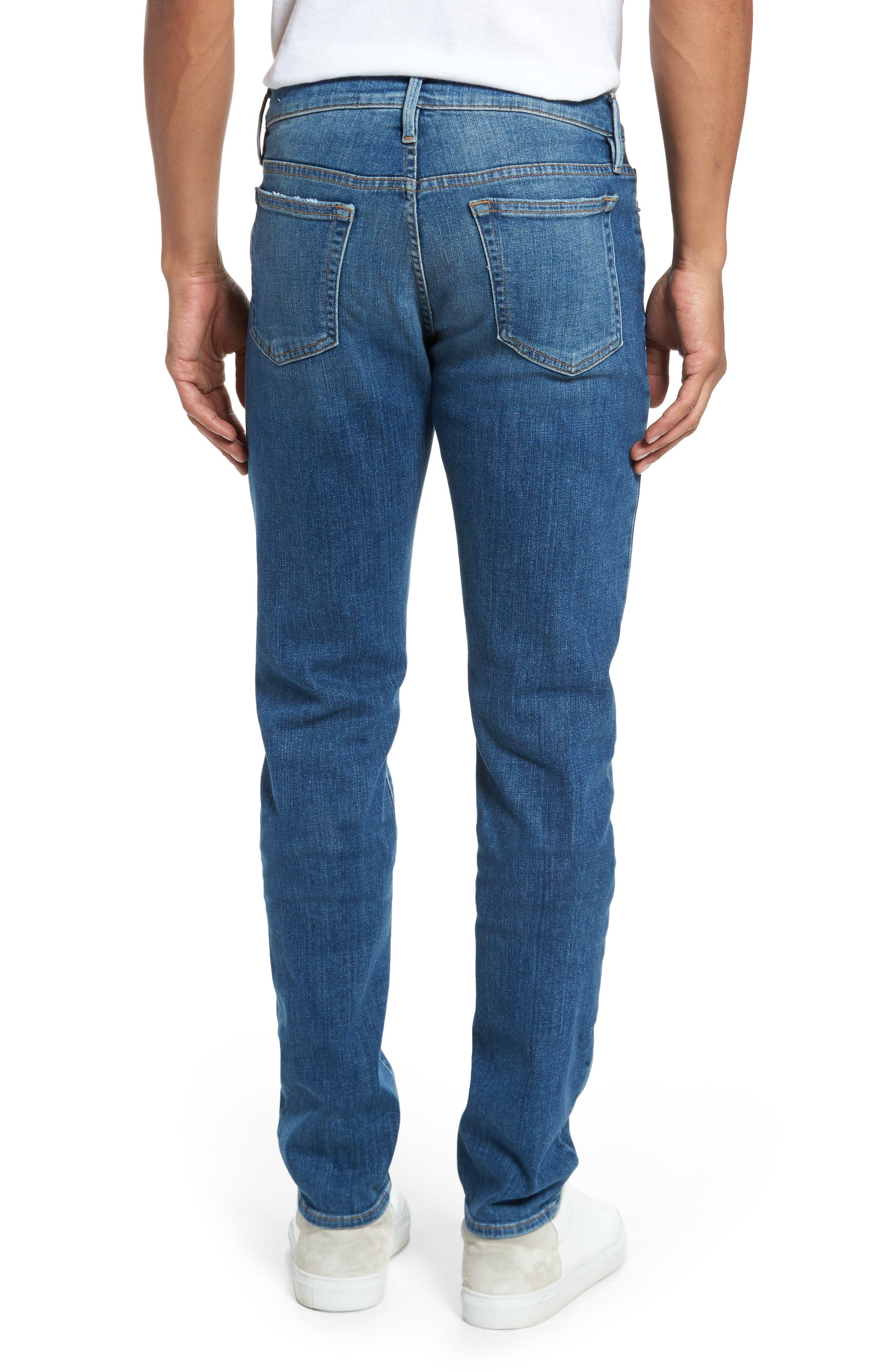 L'Homme Slim Fit Jeans,                             Alternate thumbnail 2, color,                             407