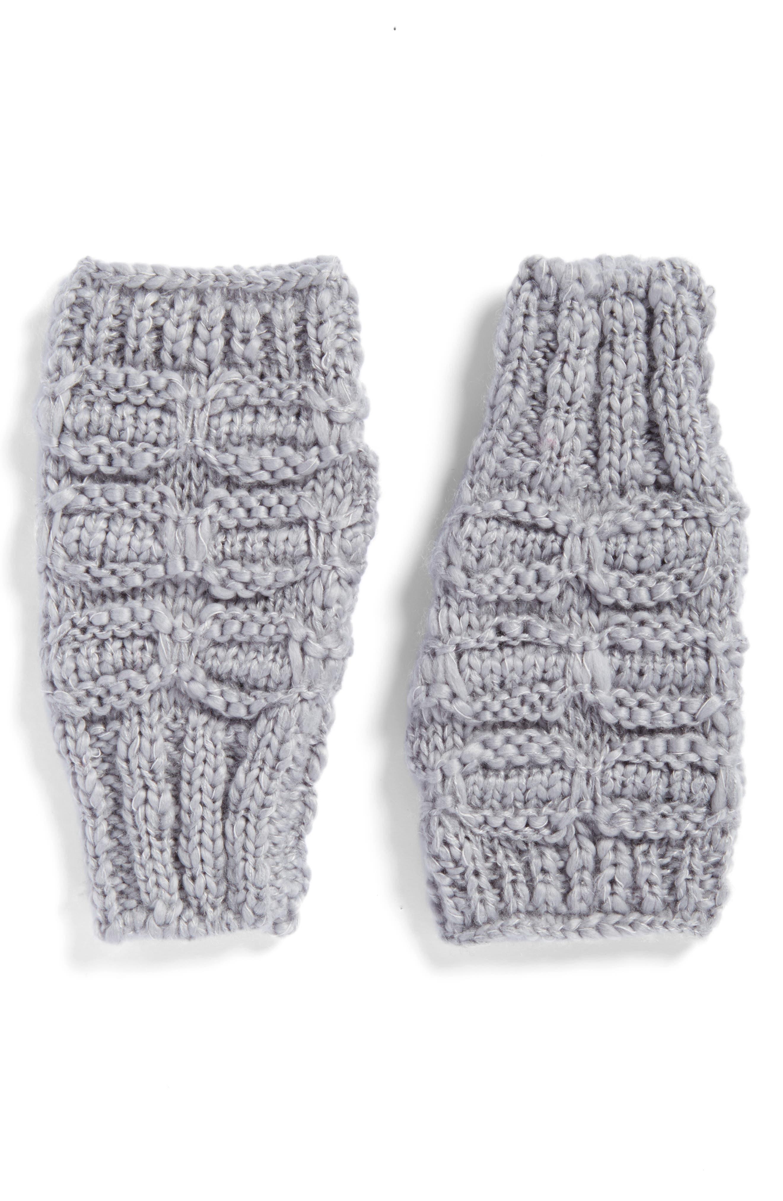 Chunky Knit Arm Warmers,                             Main thumbnail 2, color,