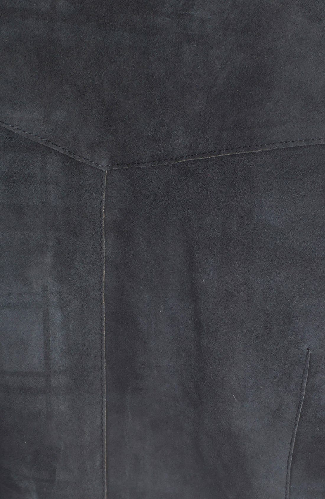 Suede Western Shirt,                             Alternate thumbnail 3, color,                             024