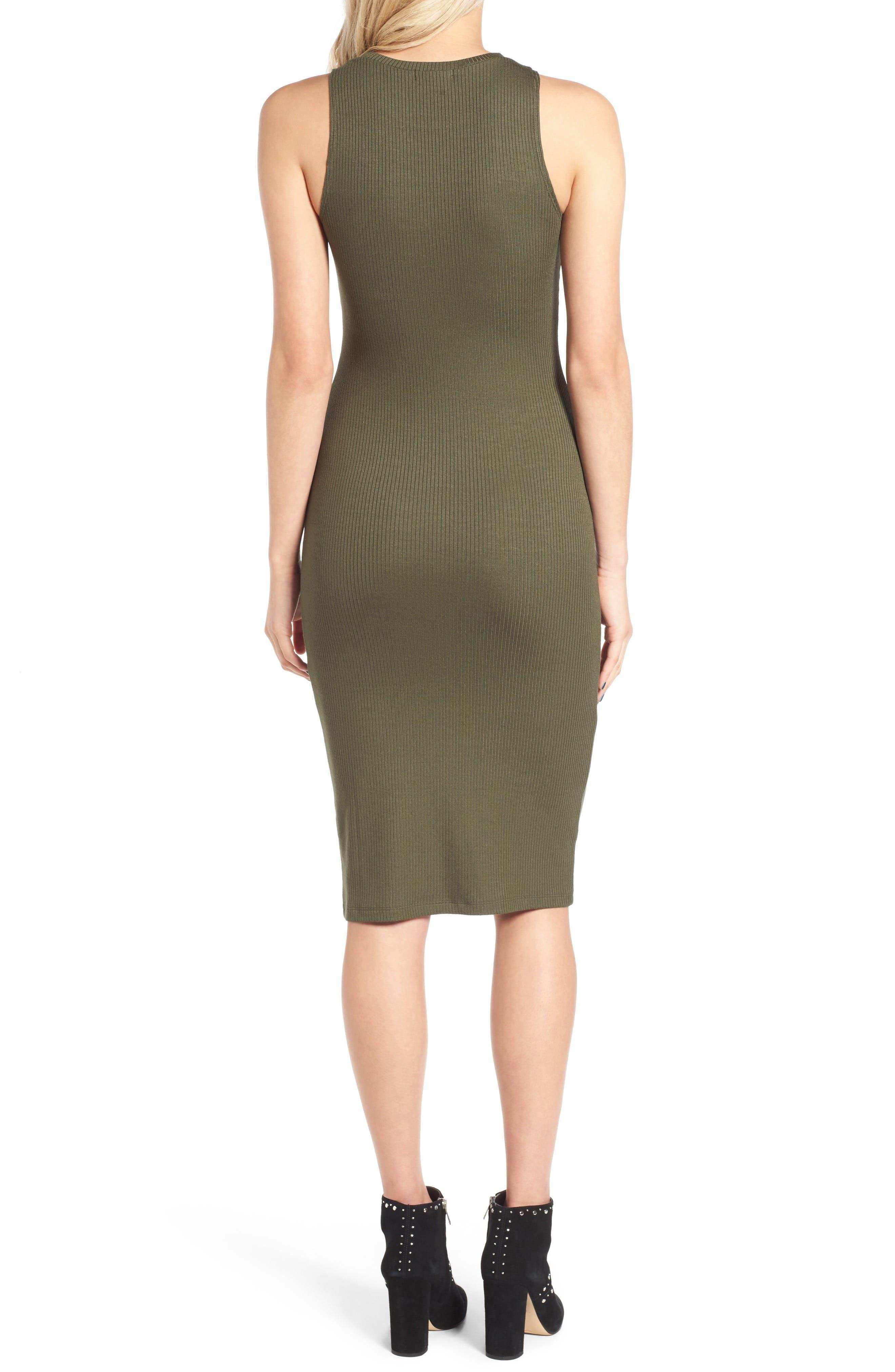 Rib Tank Dress,                             Alternate thumbnail 6, color,