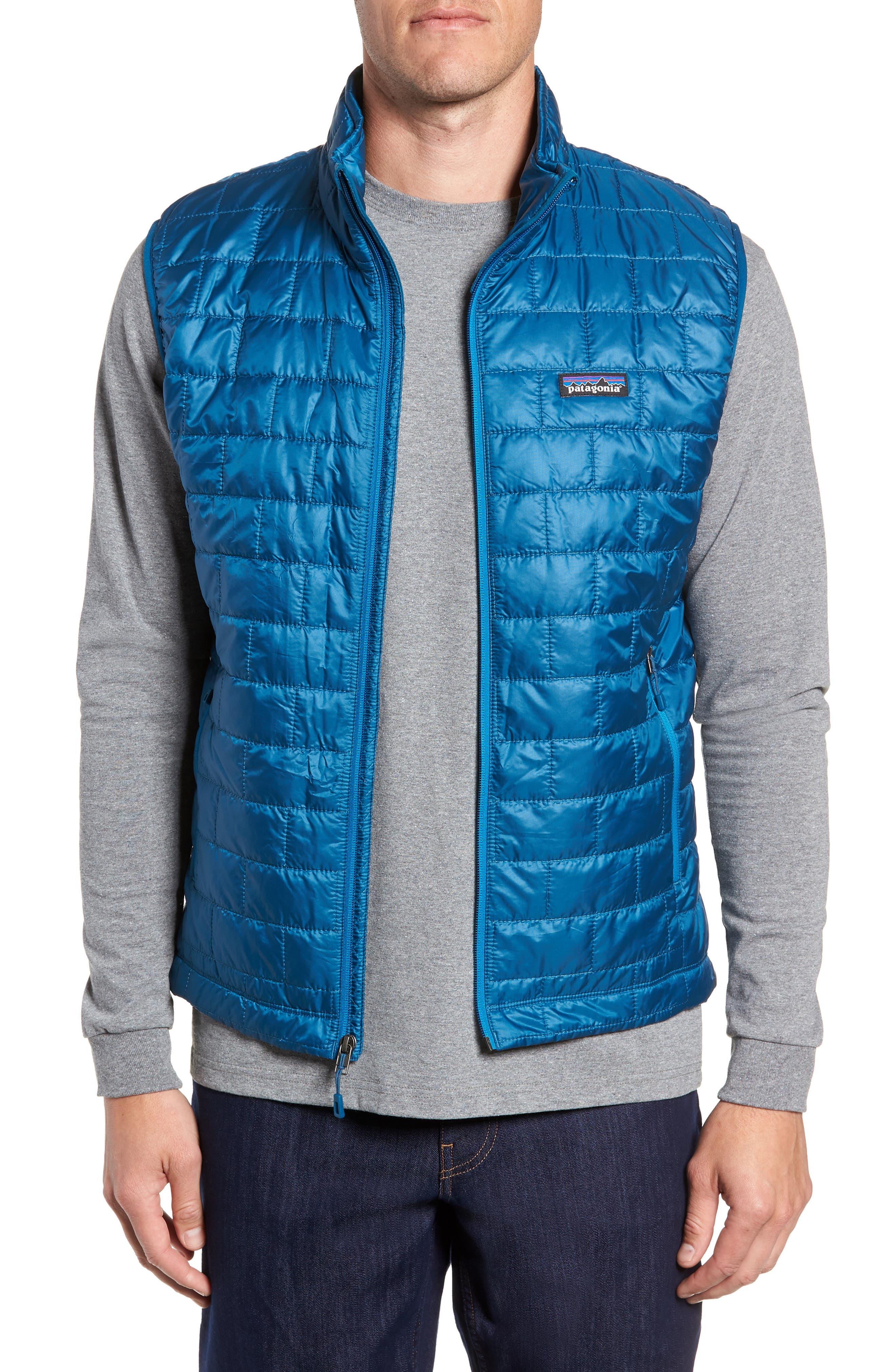 Nano Puff<sup>®</sup> Vest,                             Main thumbnail 1, color,                             BIG SUR BLUE
