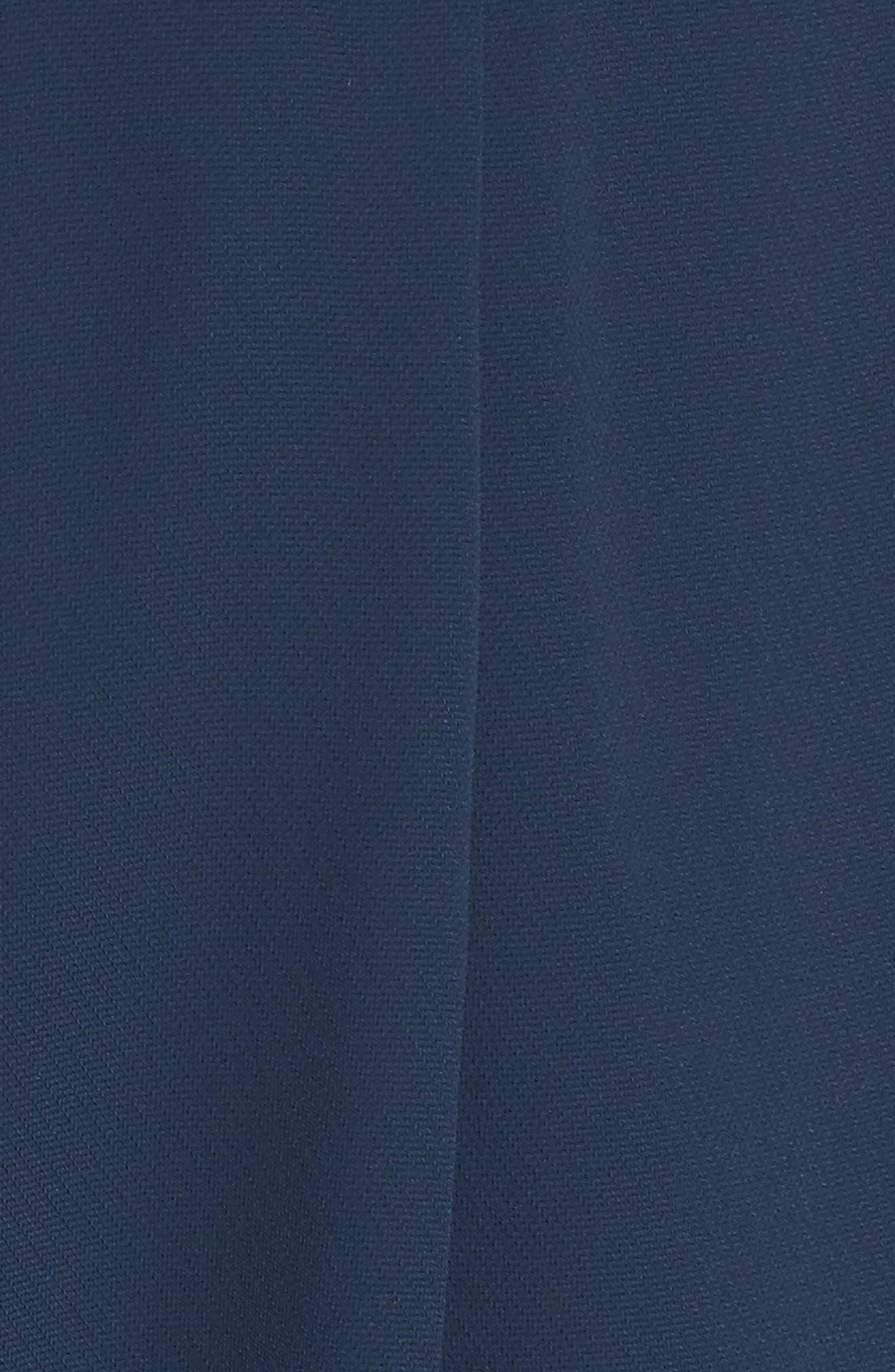 Evening Light Drape Dress,                             Alternate thumbnail 5, color,                             400