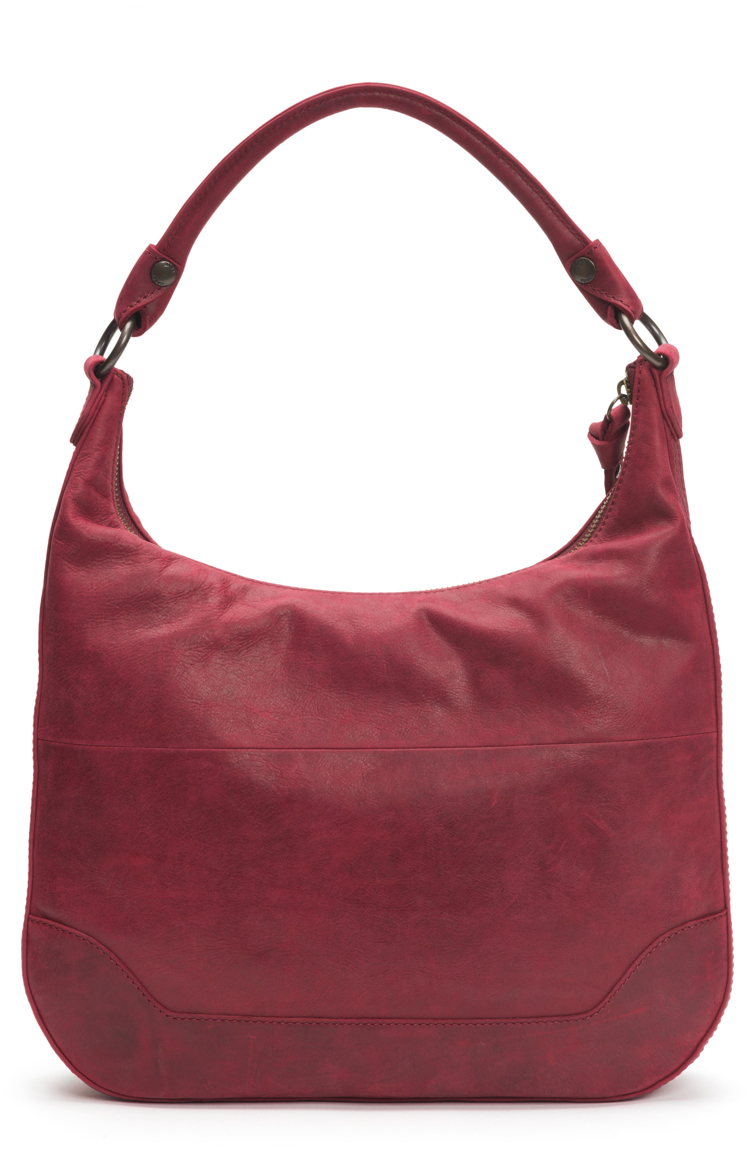 Melissa Large Leather Hobo,                             Alternate thumbnail 3, color,                             604