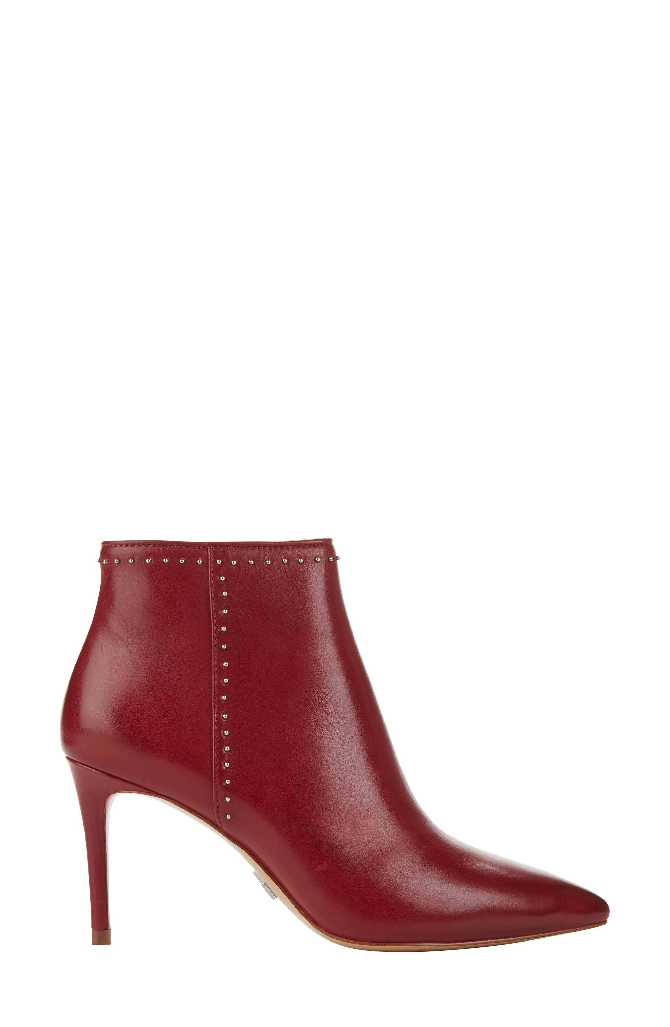 Donna Karan Lizzy Studded Bootie,                             Alternate thumbnail 3, color,                             621