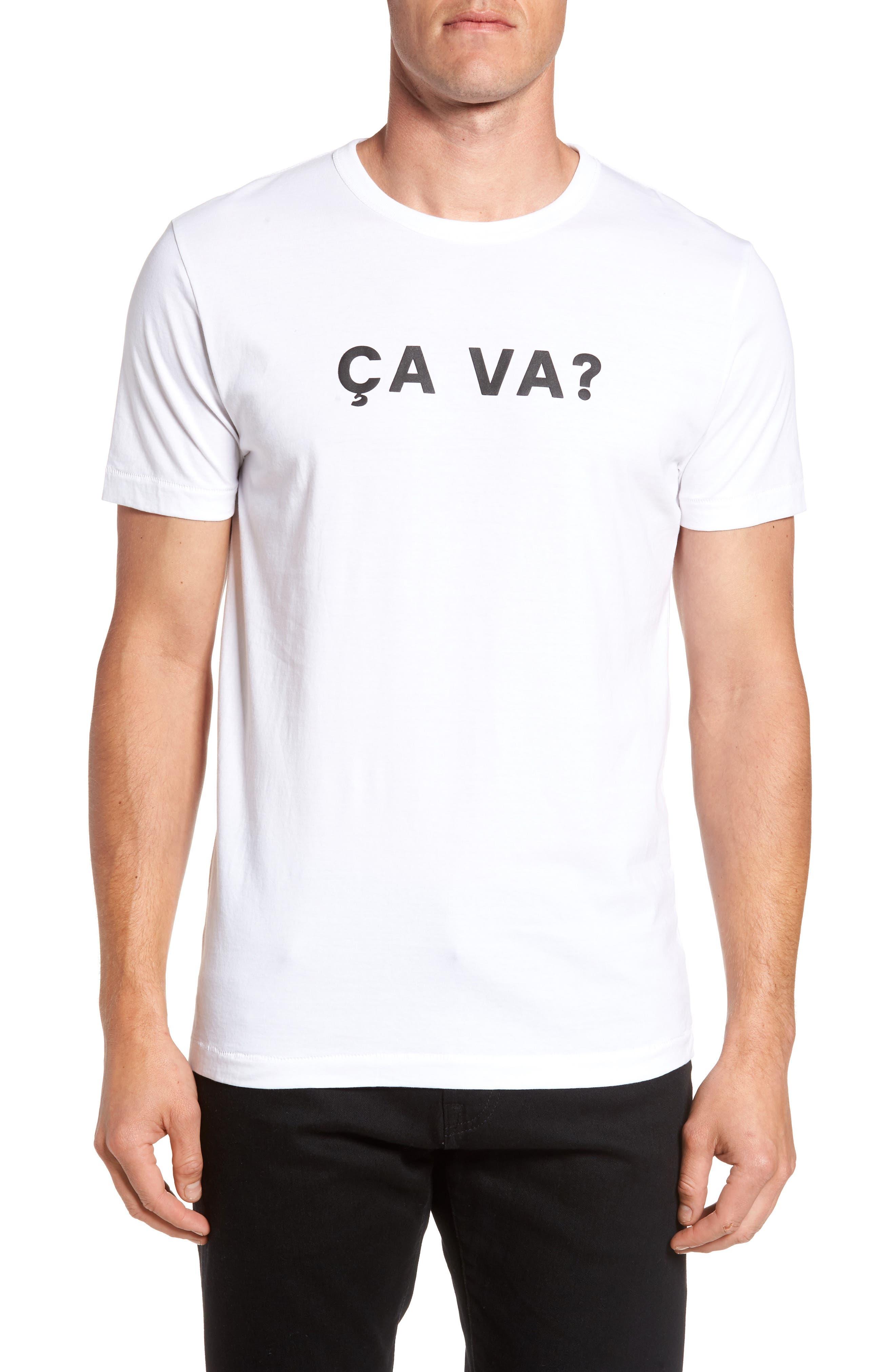 Ca Va? Graphic T-Shirt, Main, color, 103