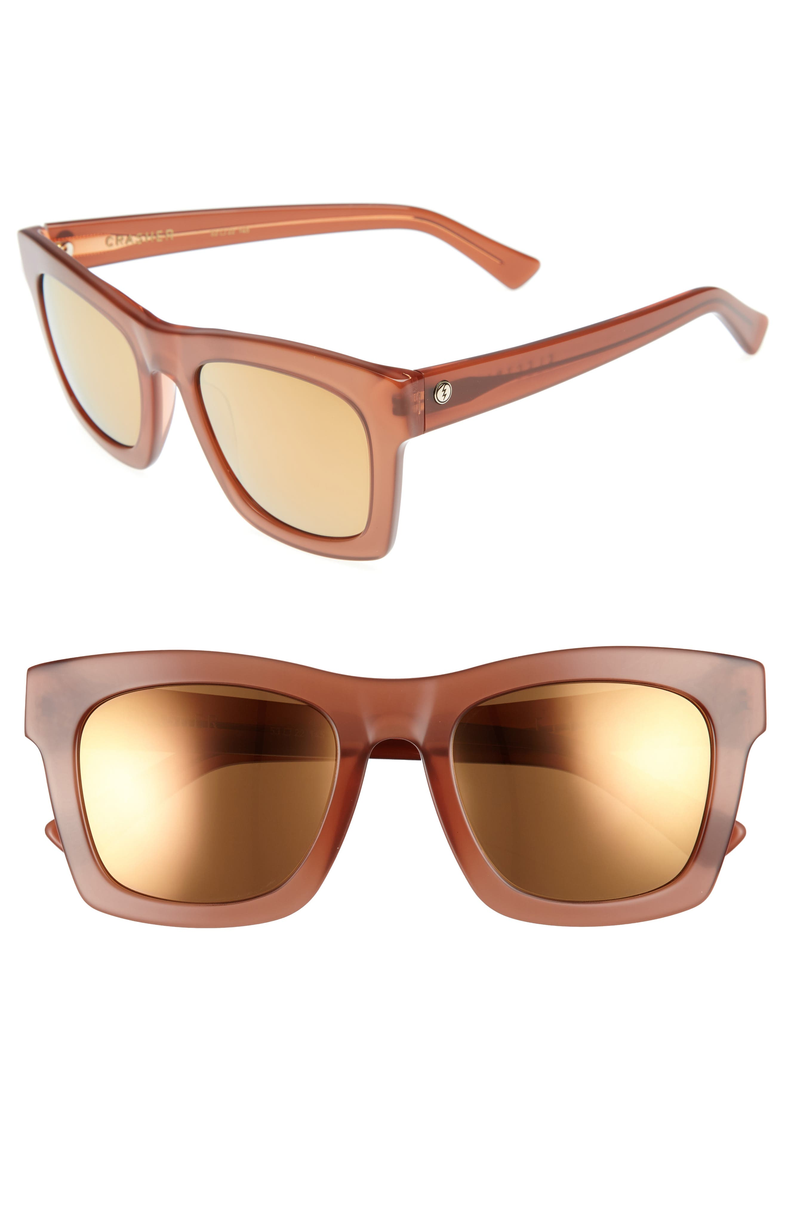 'Crasher' 53mm Retro Sunglasses,                             Main thumbnail 6, color,