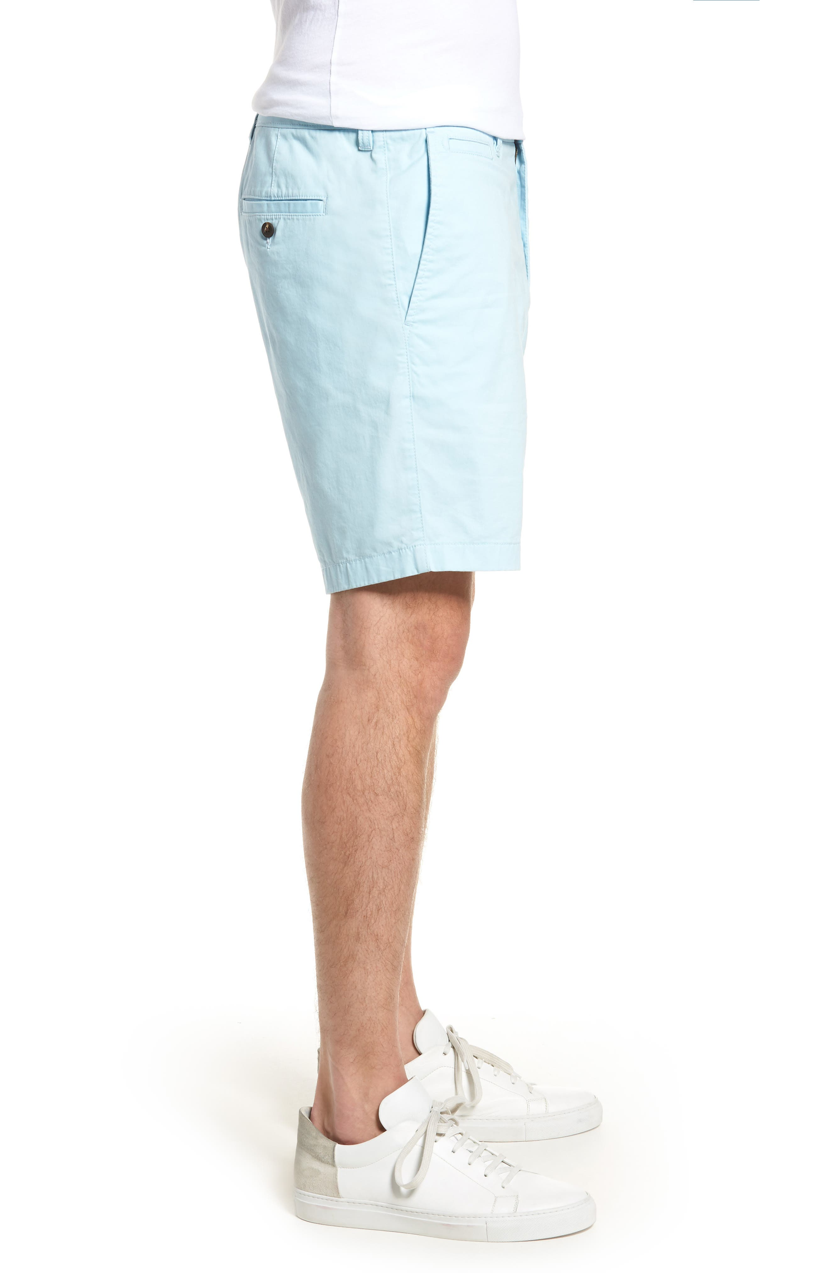 Ballard Slim Fit Stretch Chino 9-Inch Shorts,                             Alternate thumbnail 34, color,