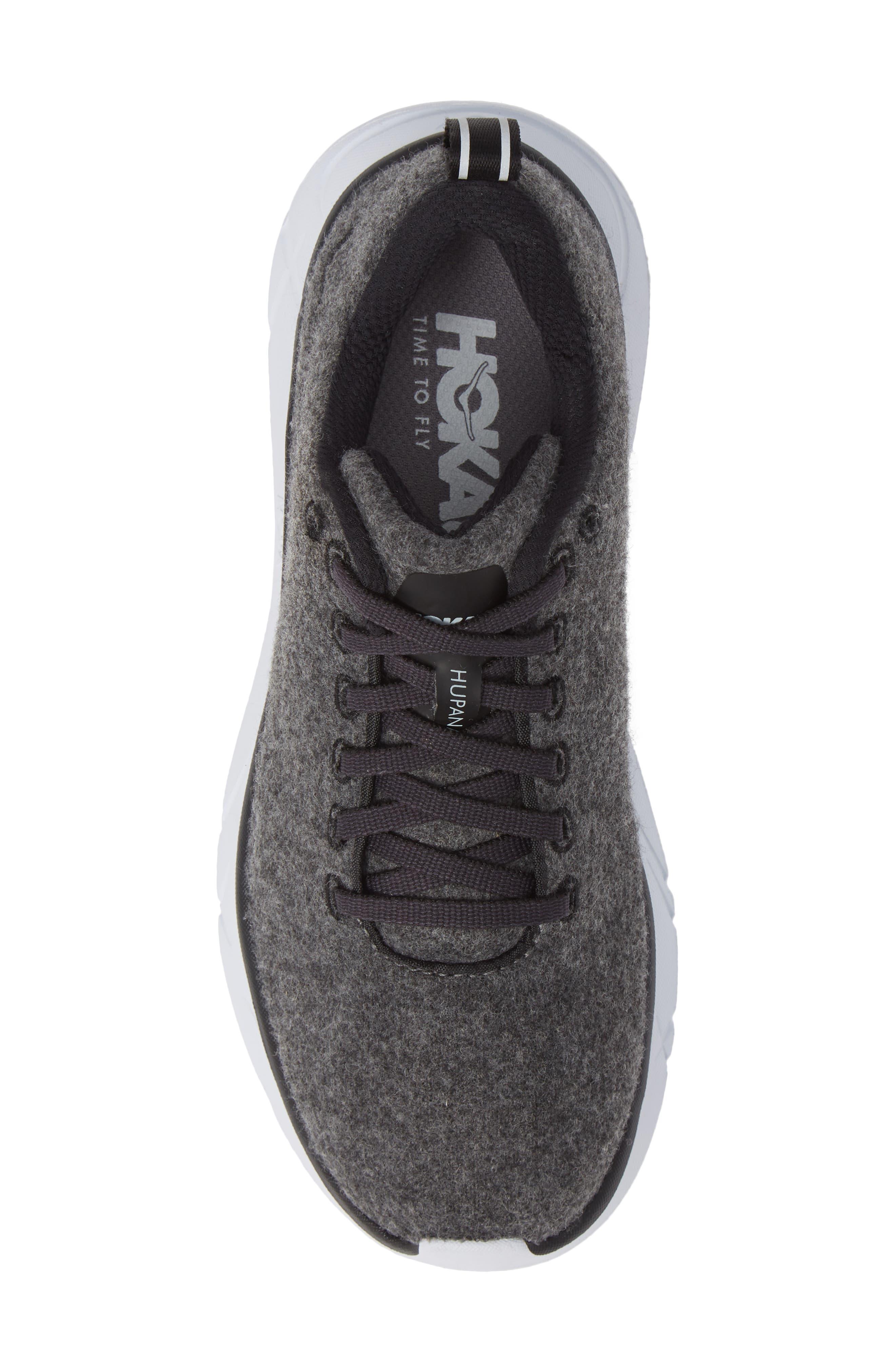 HOKA ONE ONE,                              Hupana Wool Sneaker,                             Alternate thumbnail 5, color,                             023