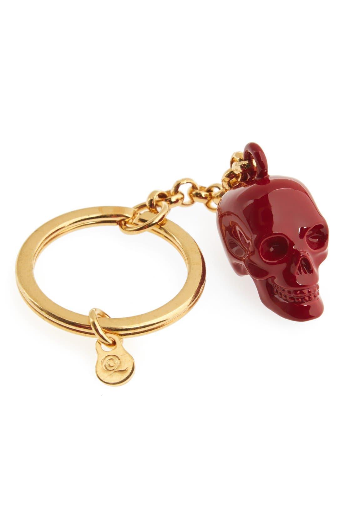 Skull Key Chain,                             Main thumbnail 1, color,                             600