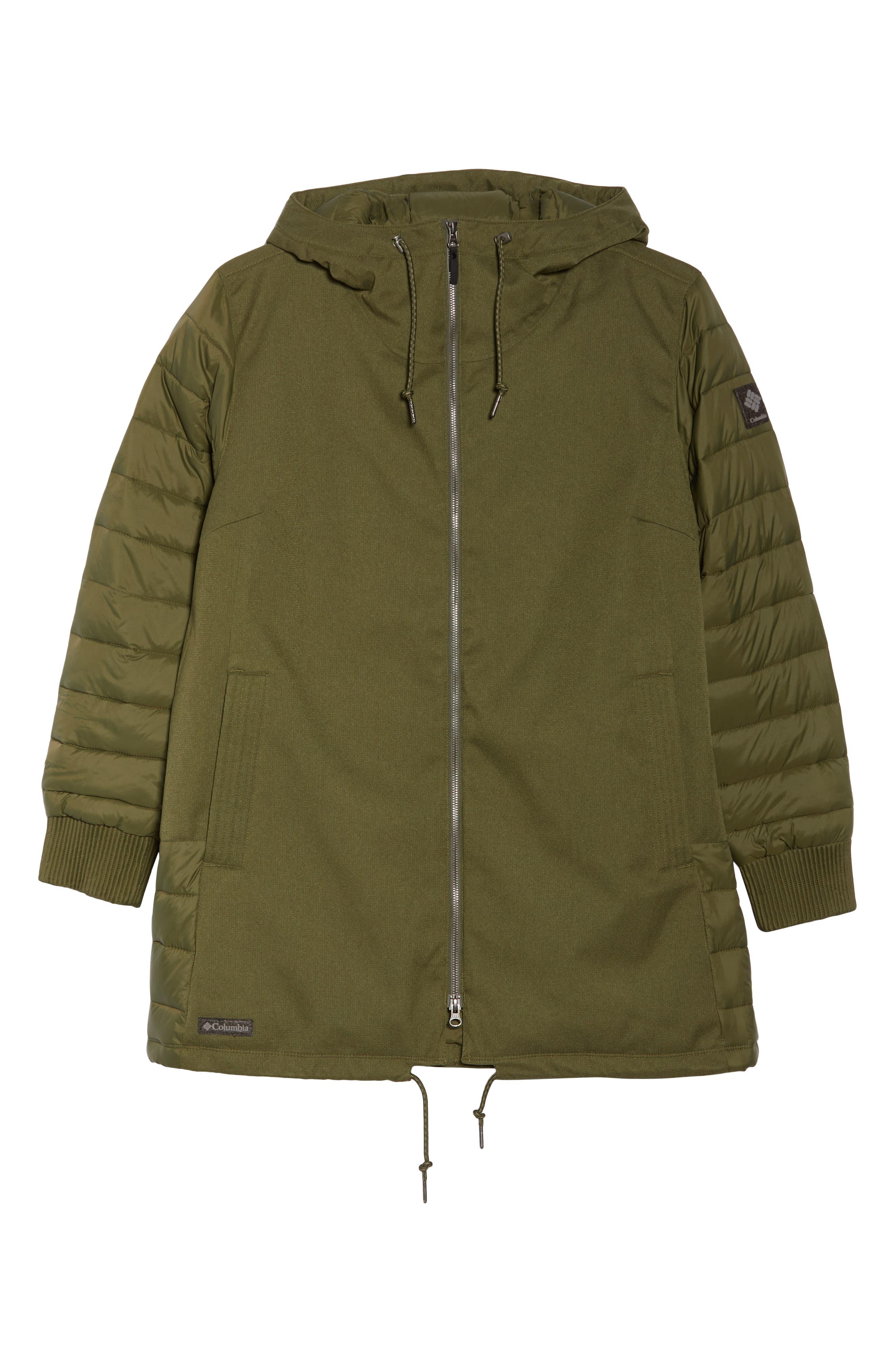 Boundary Bay Waterproof Hybrid Jacket,                             Alternate thumbnail 6, color,                             383