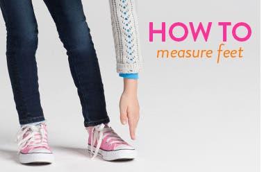 How to measure kids' feet video.