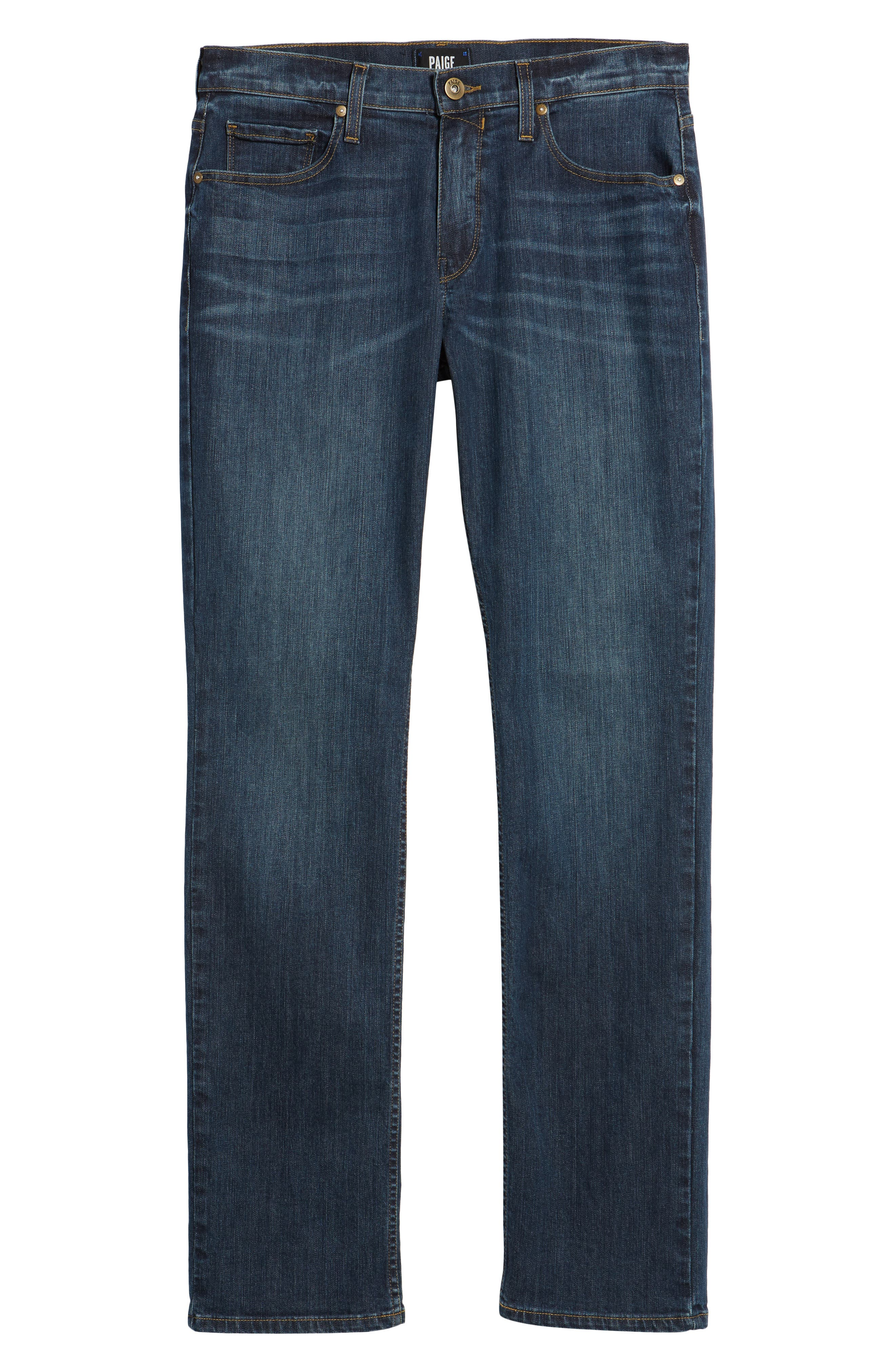 Legacy - Normandie Straight Fit Jeans,                             Alternate thumbnail 6, color,                             400