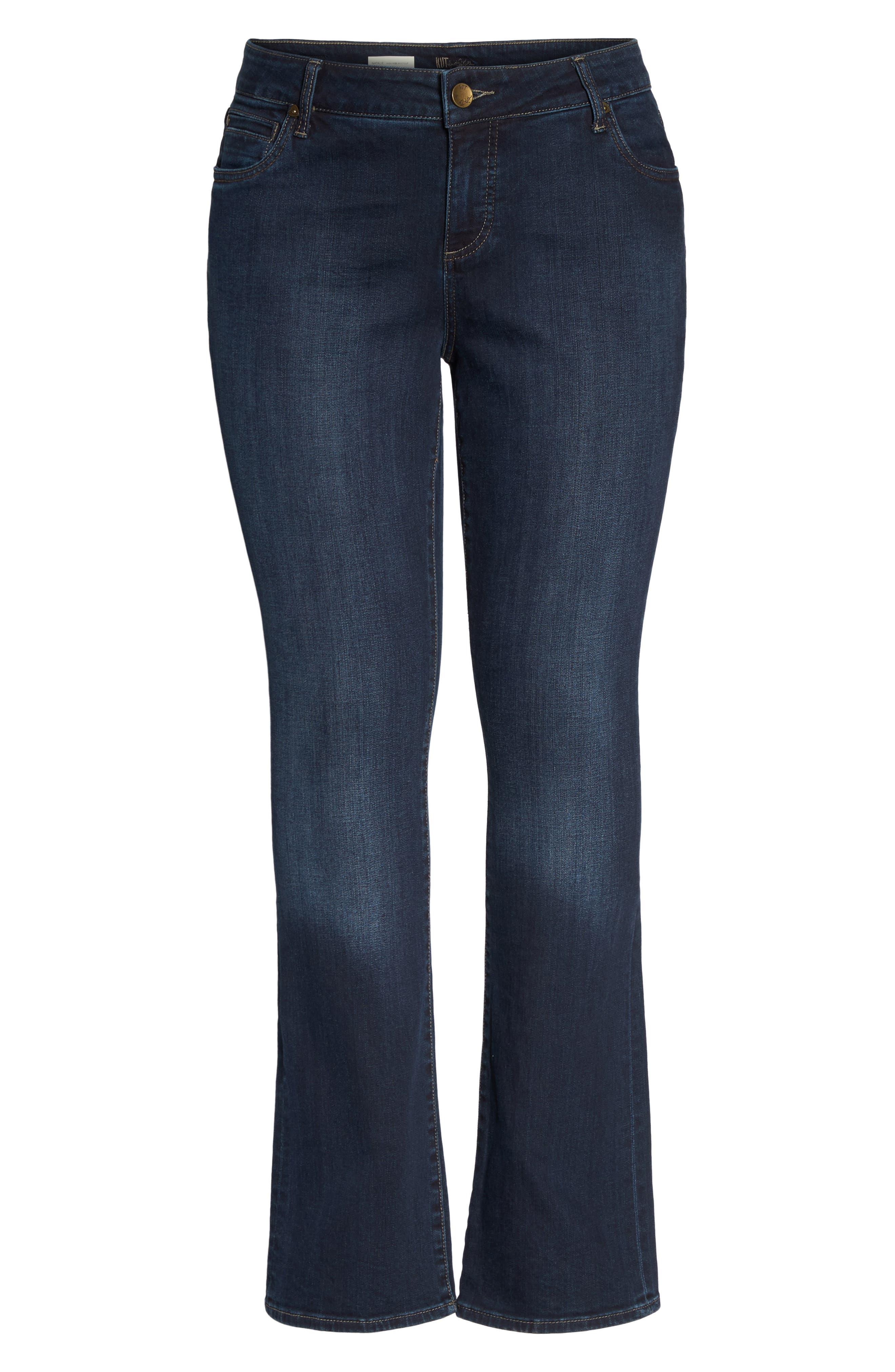 Natalie High Waist Bootcut Jeans,                             Alternate thumbnail 6, color,                             453