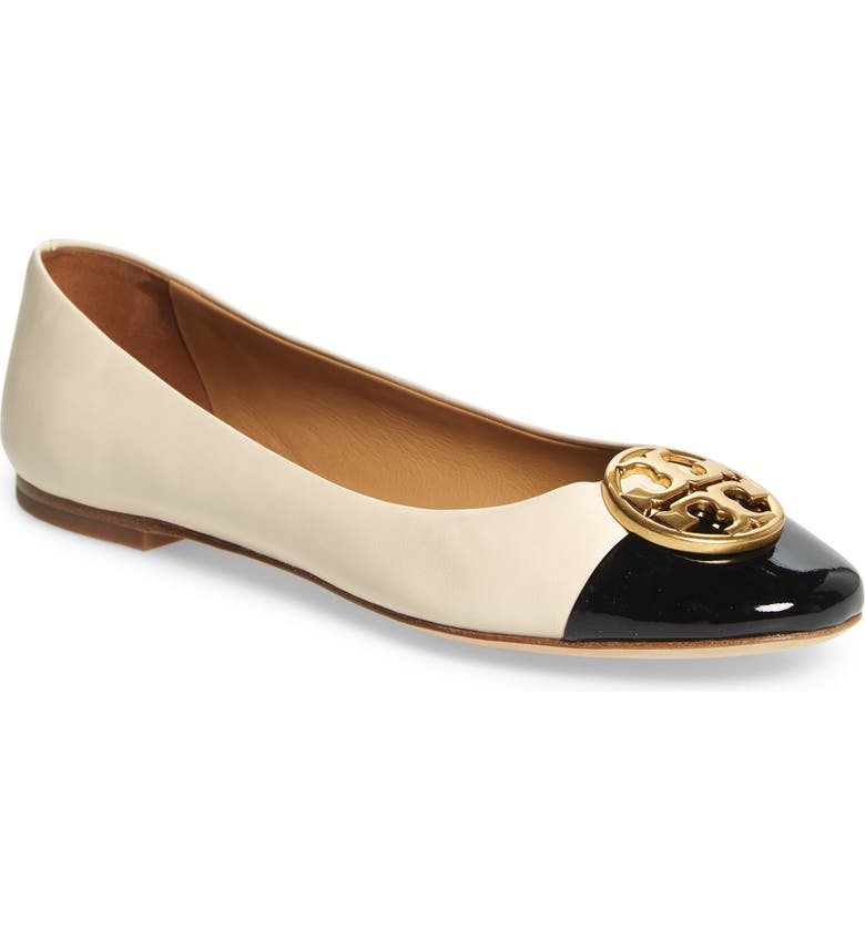Find Tory Burch Chelsea Cap Toe Ballet Flat (Women) Good price