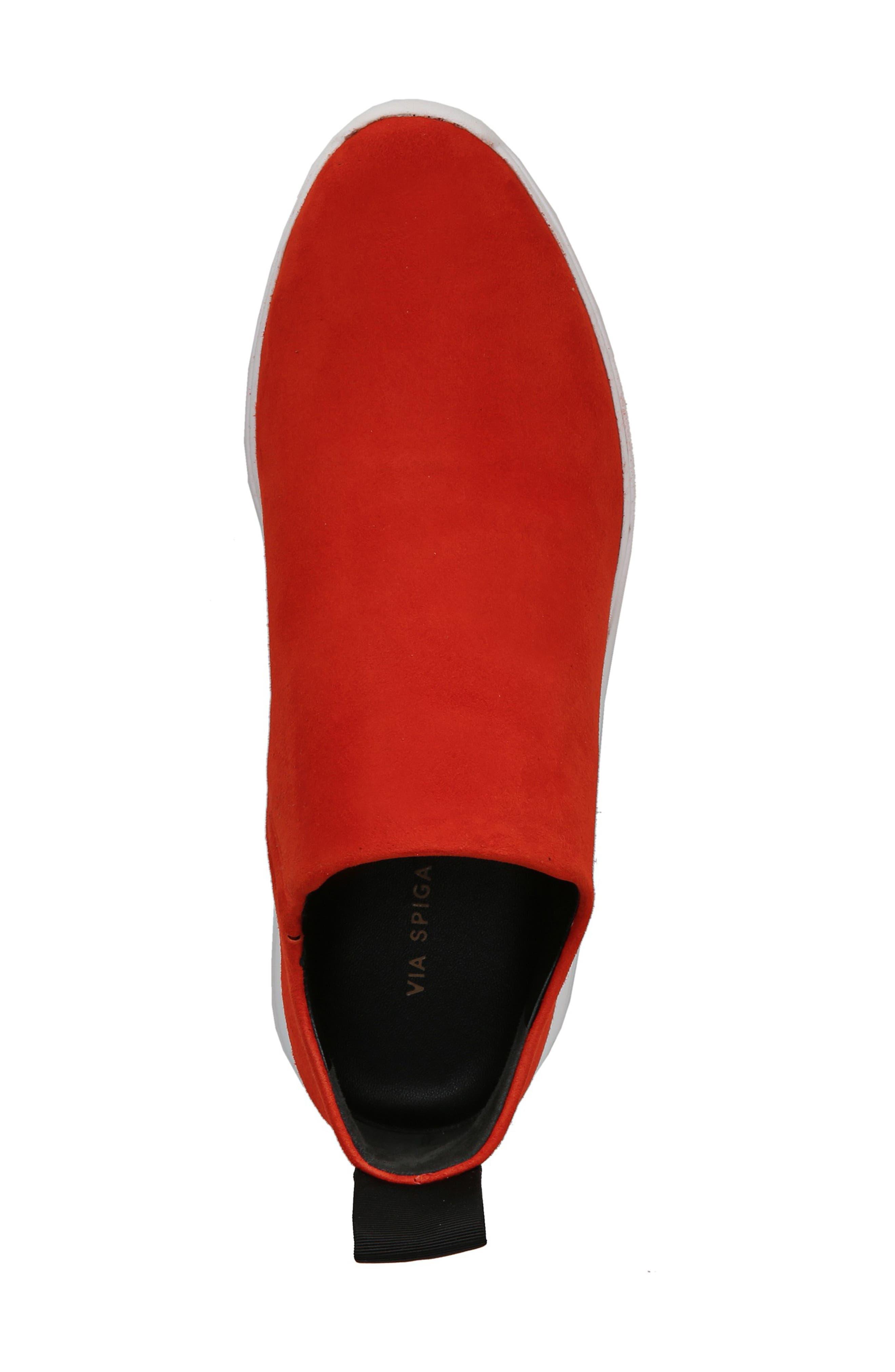 Marlow Slip-On Sneaker,                             Alternate thumbnail 5, color,                             SIENNA