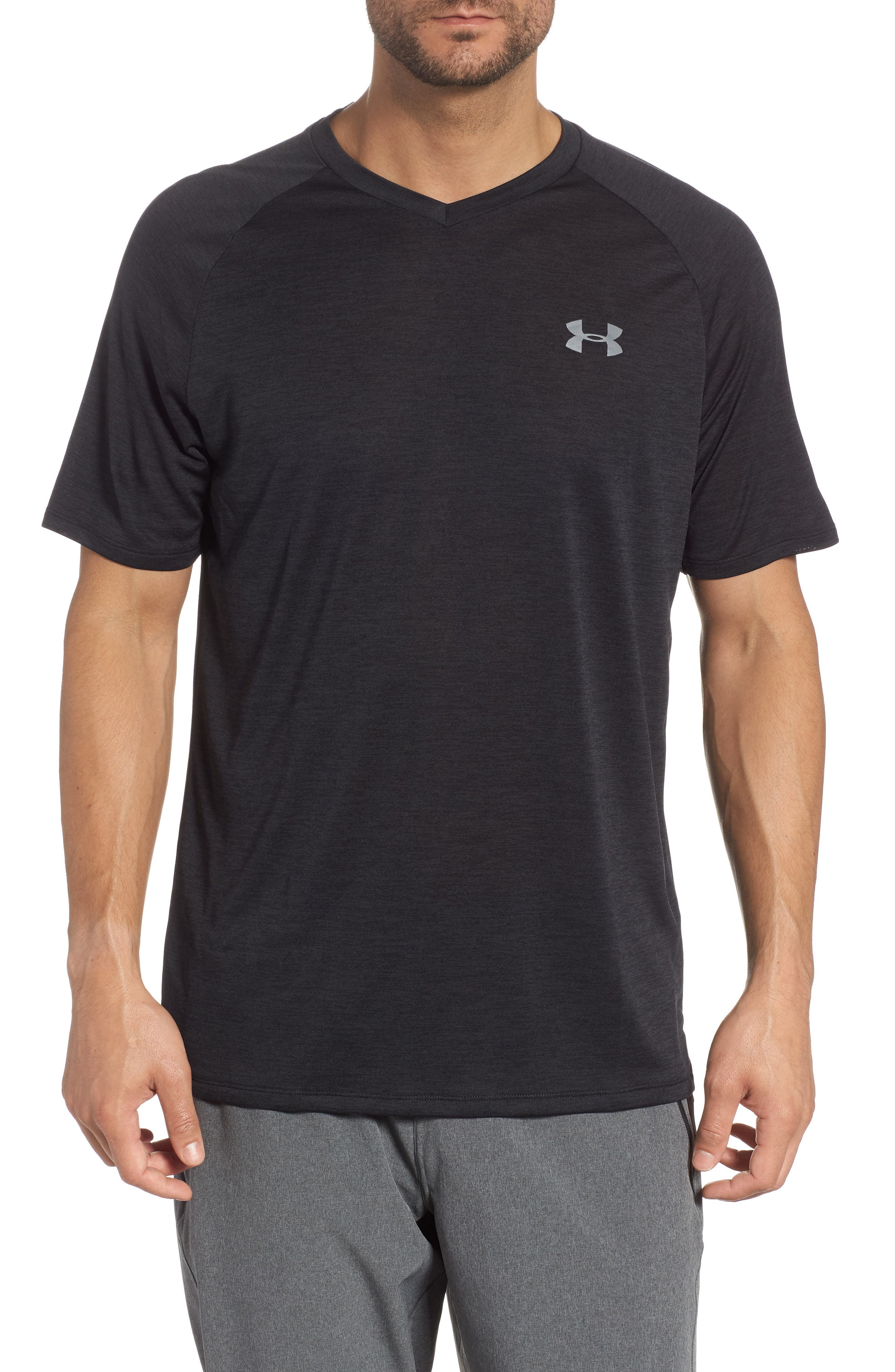 Loose Fit Tech Tee,                         Main,                         color, 001
