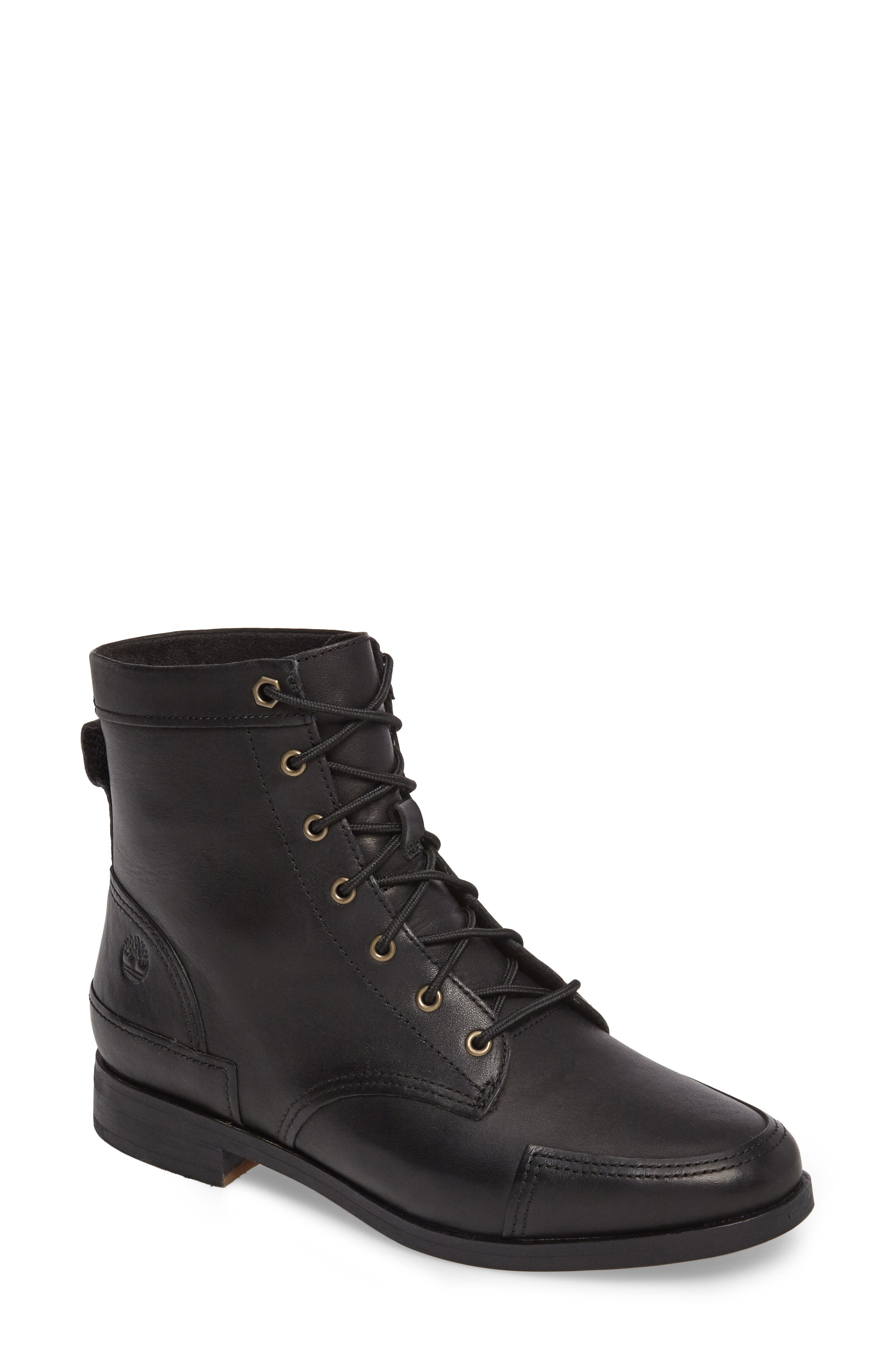 Somers Falls Lace-Up Boot,                             Main thumbnail 1, color,                             001