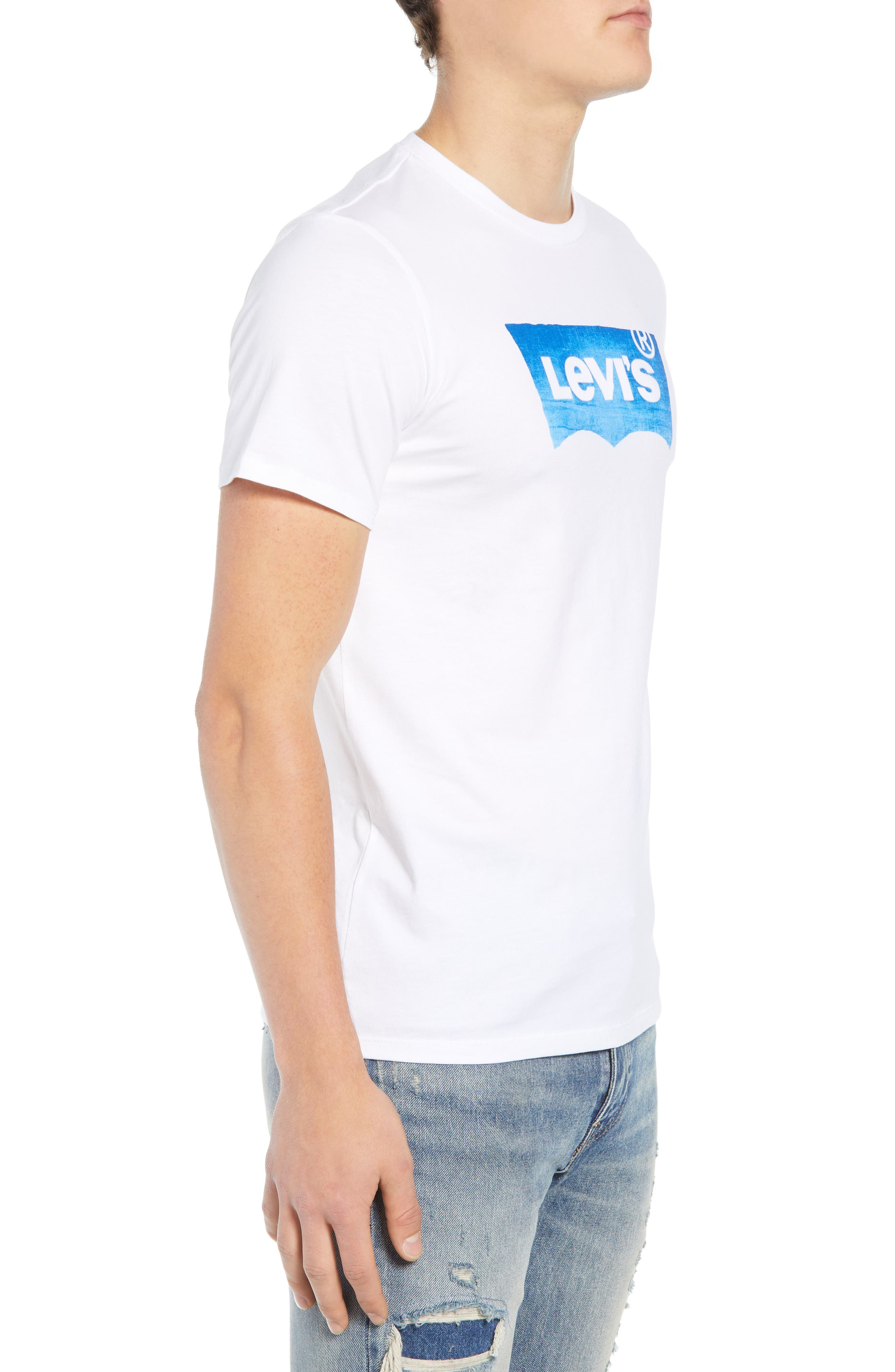 LEVI'S<SUP>®</SUP>,                             Housemark Graphic T-Shirt,                             Alternate thumbnail 3, color,                             100