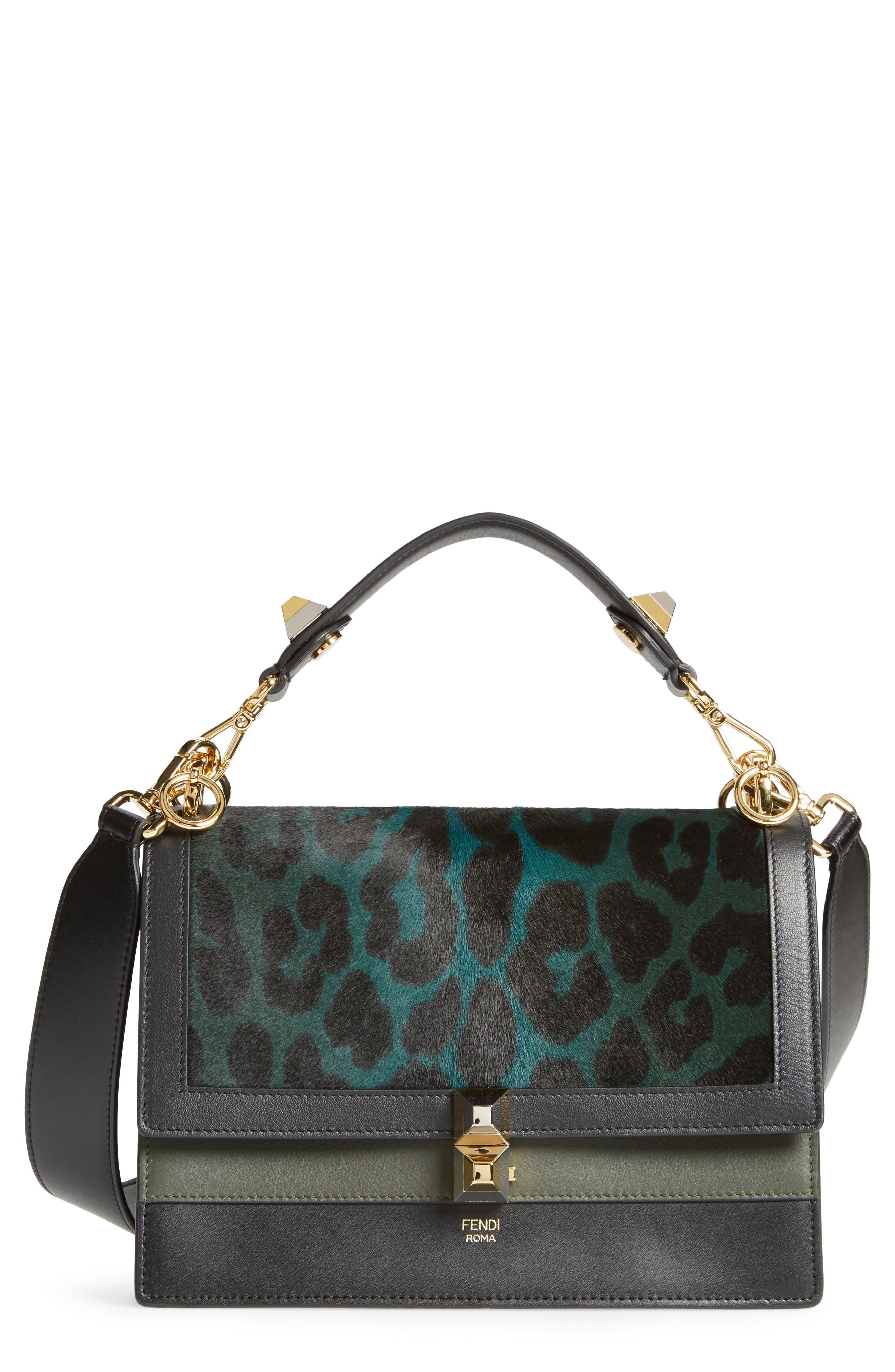 Kan I Genuine Calf Hair & Leather Shoulder Bag,                         Main,                         color, 393