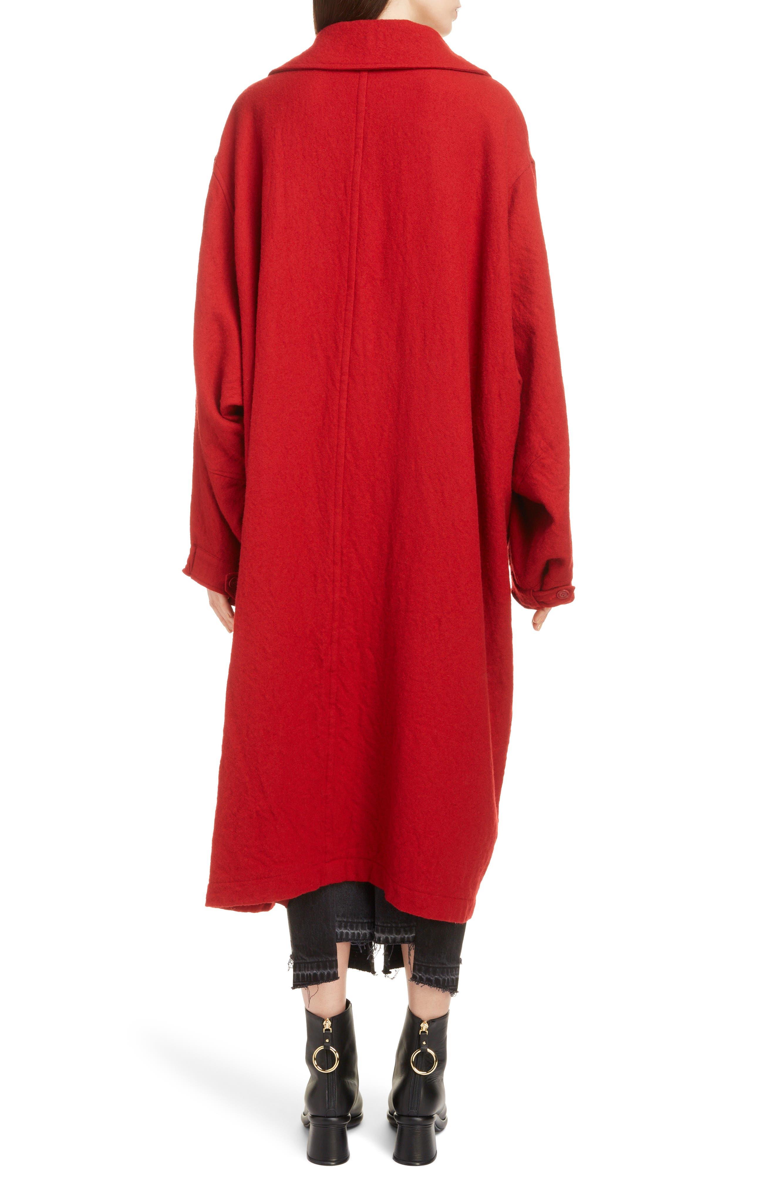 Big Pocket Wool Coat,                             Alternate thumbnail 2, color,                             600