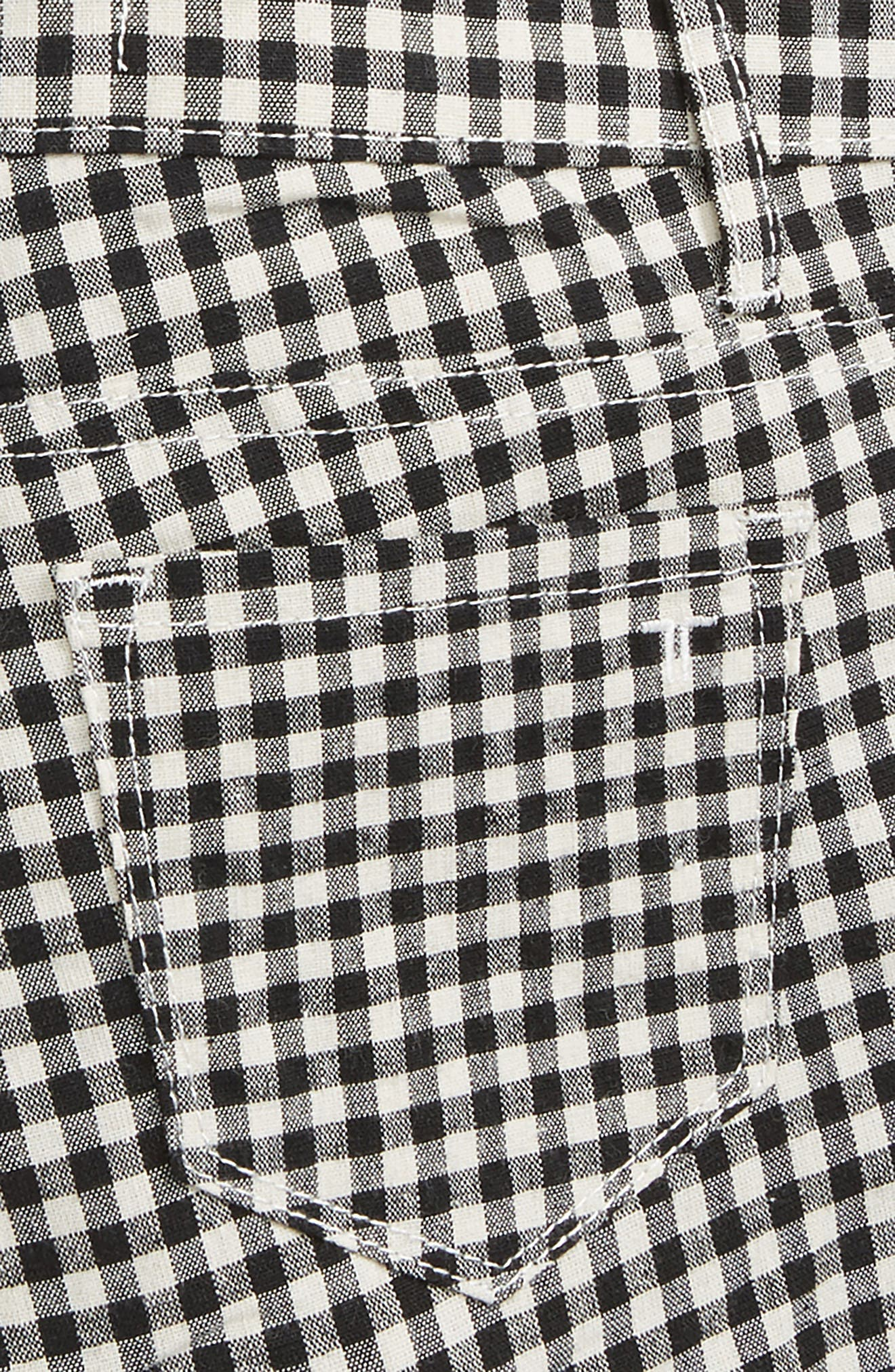 Gingham Shorts,                             Alternate thumbnail 3, color,                             001