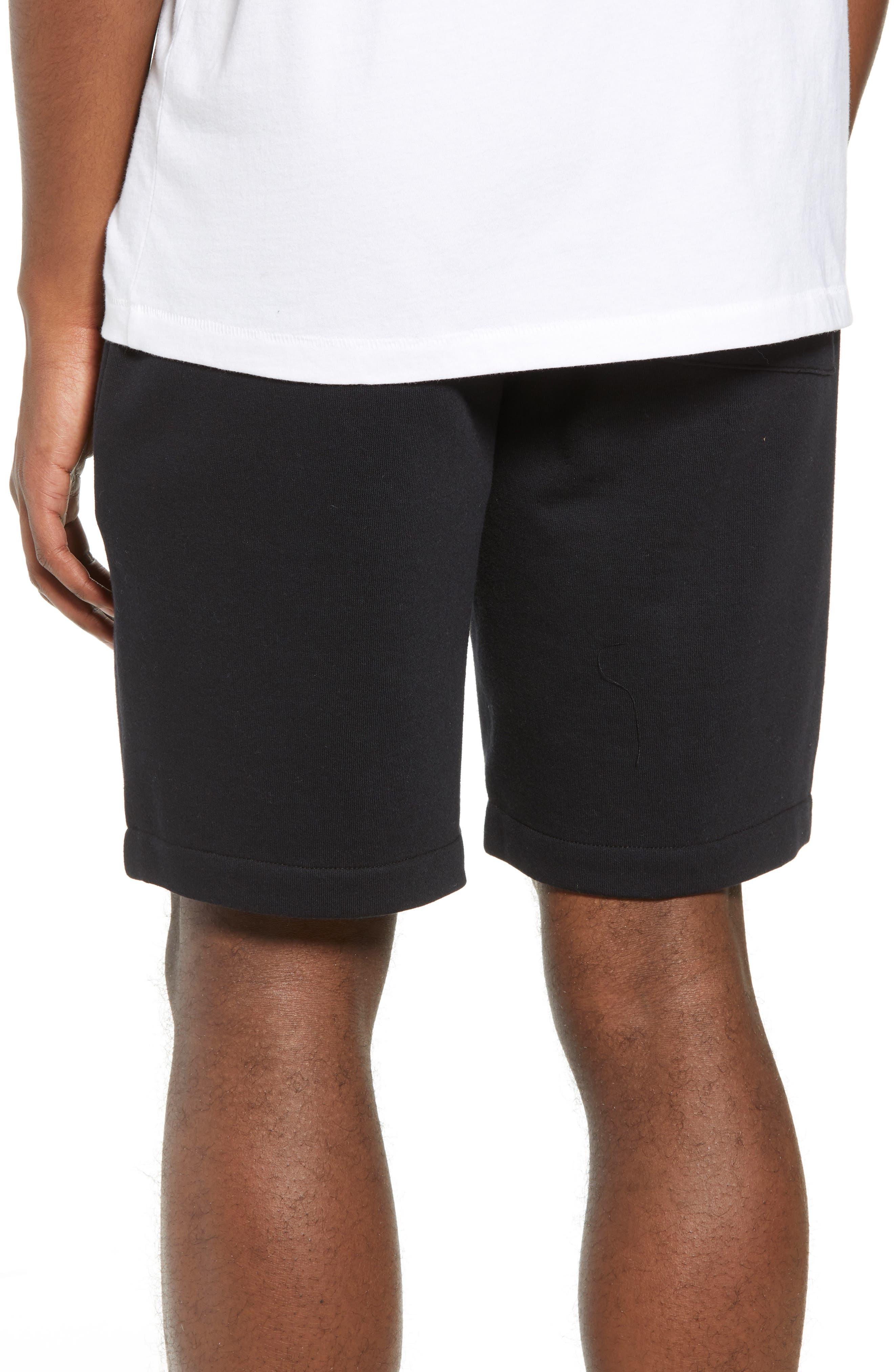 THE RAIL,                             Fleece Shorts,                             Alternate thumbnail 2, color,                             001