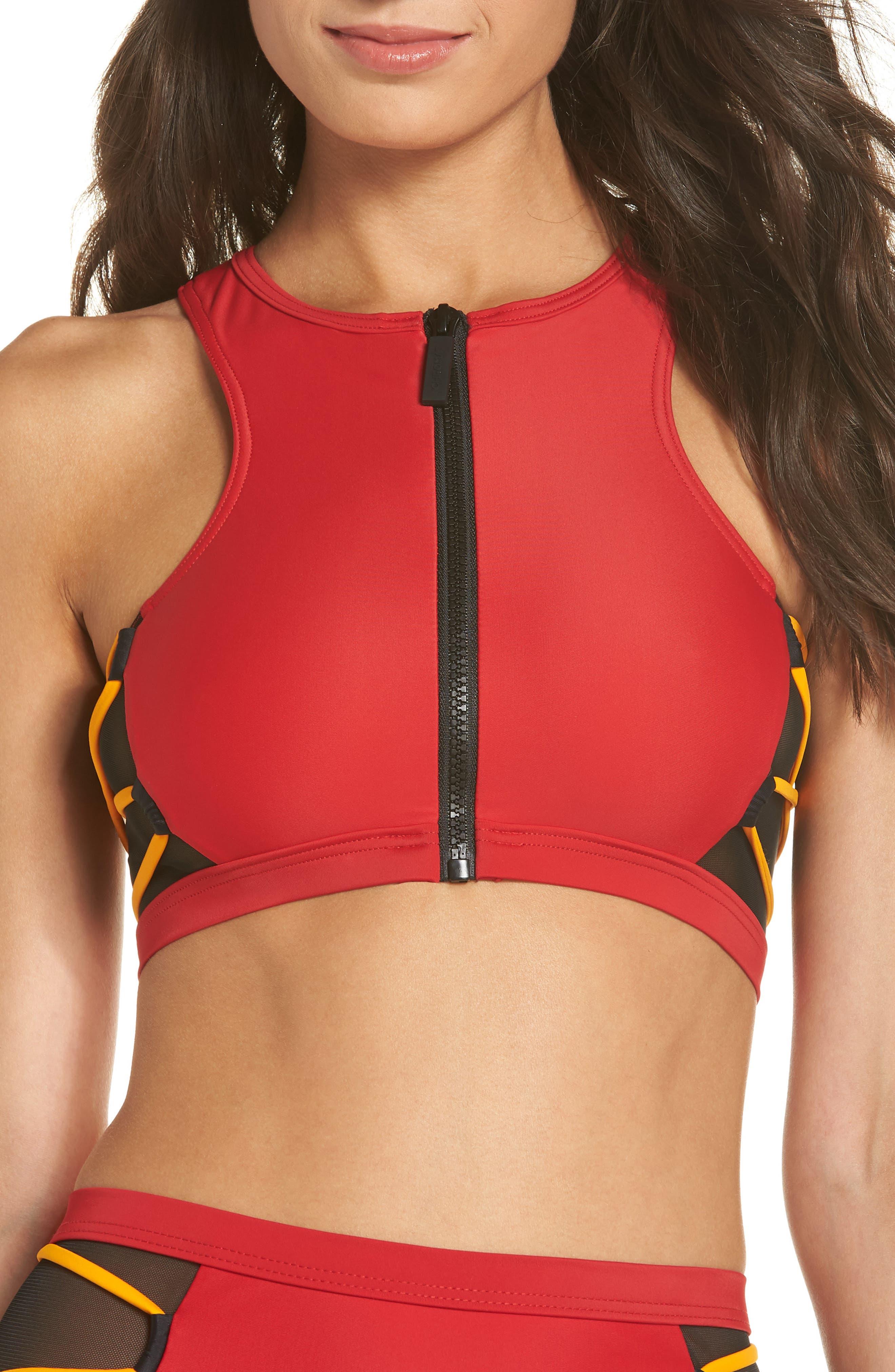 Launch Bikini Top,                             Main thumbnail 1, color,                             600