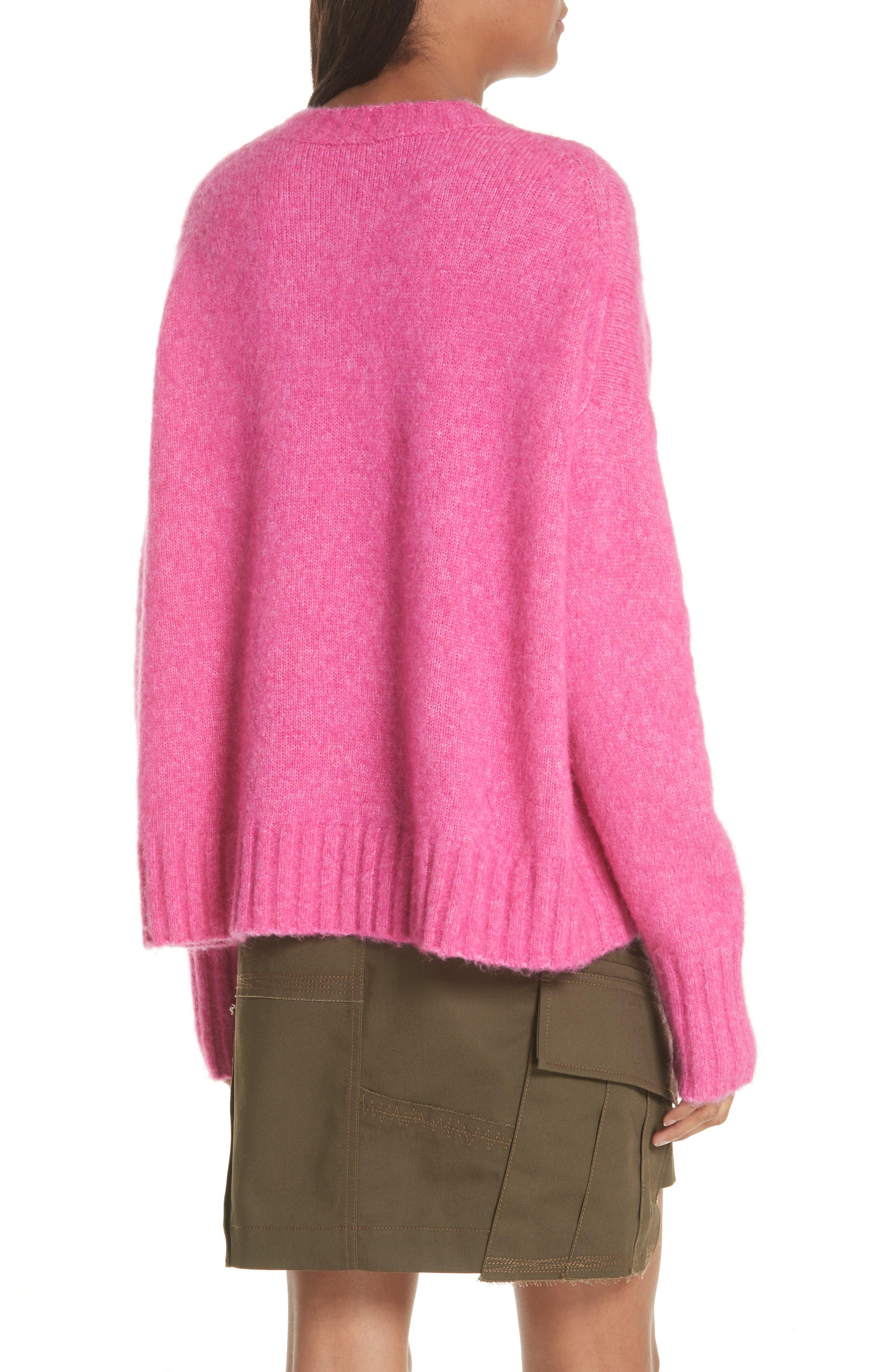 Wool & Alpaca Blend Sweater,                             Alternate thumbnail 2, color,                             653