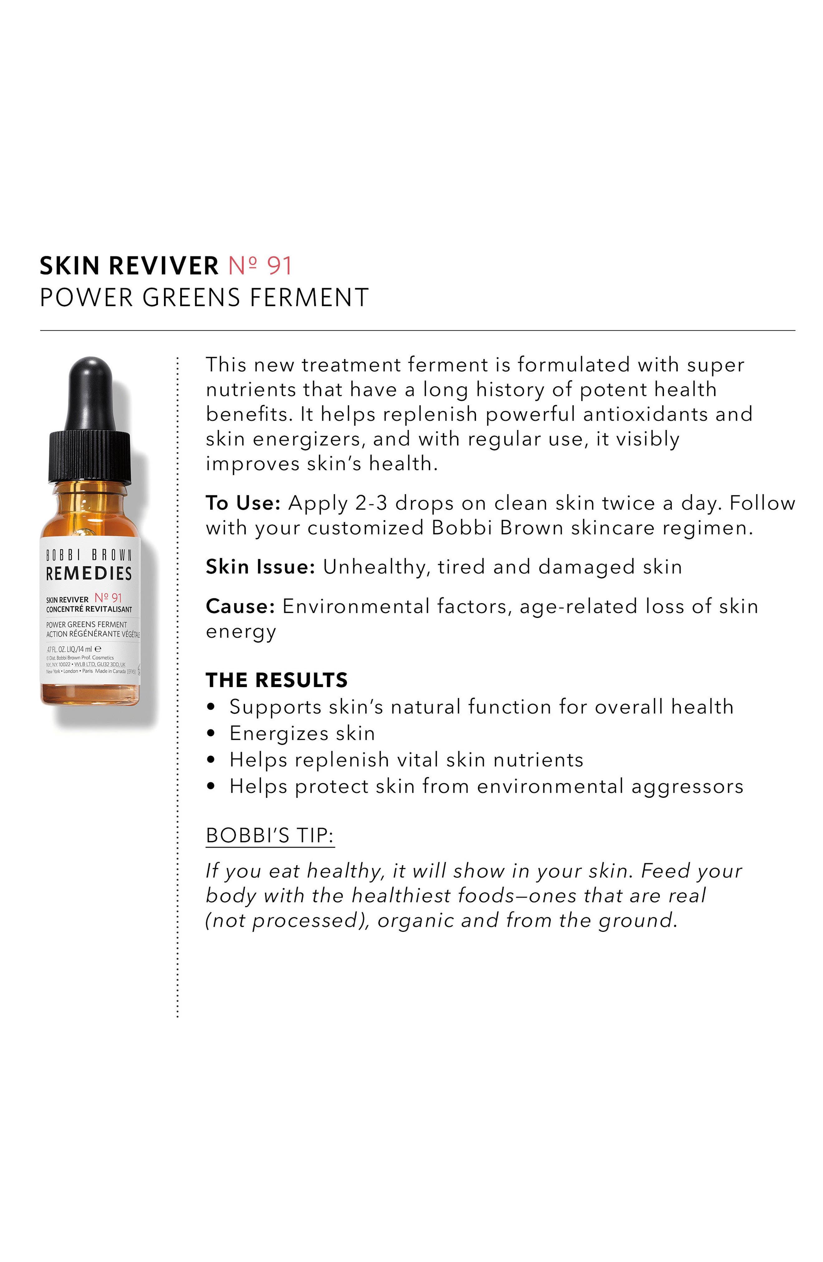 Remedies Skin Reviver Power Greens Ferment,                             Alternate thumbnail 5, color,                             NO COLOR