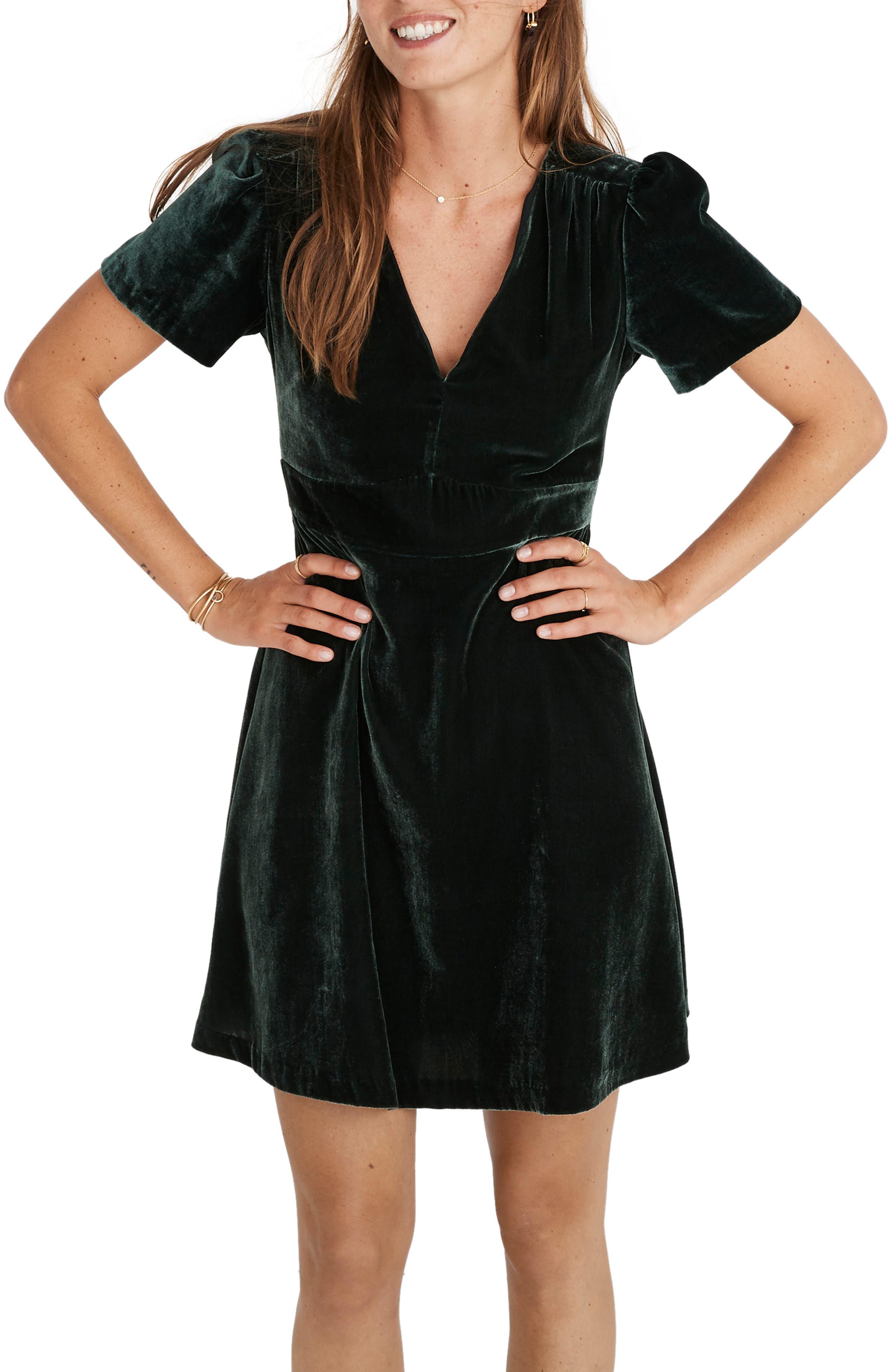 Madewell Velvet Minidress