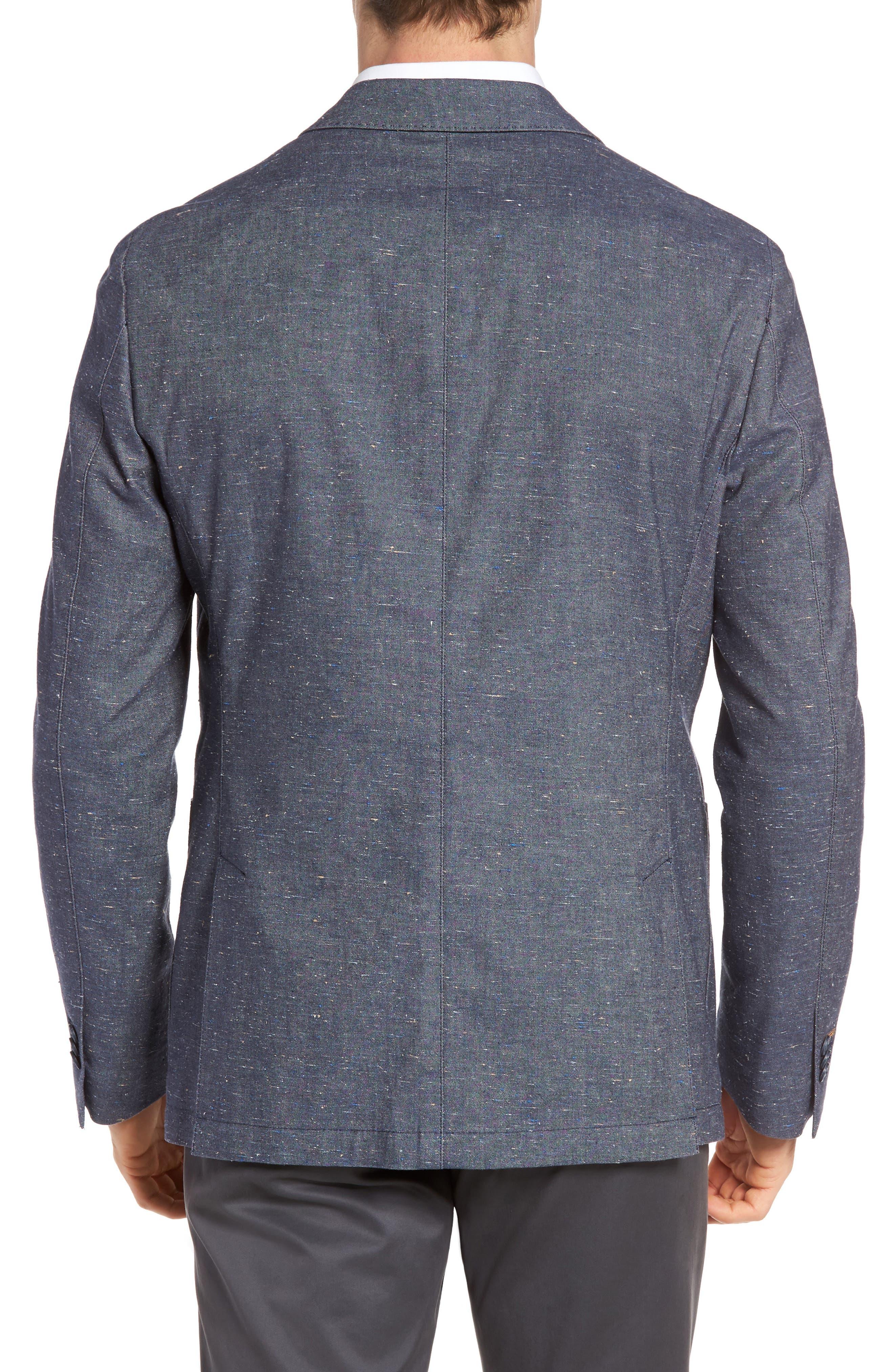 Draper Herringbone Sport Coat,                             Alternate thumbnail 2, color,                             420