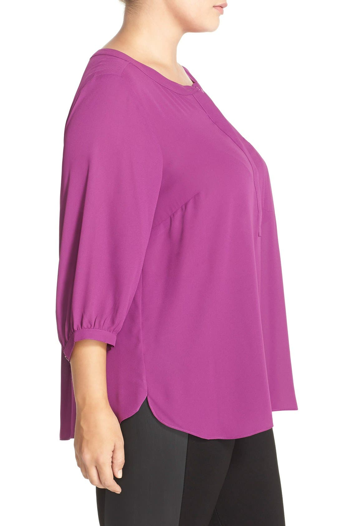 Henley Top,                             Alternate thumbnail 242, color,
