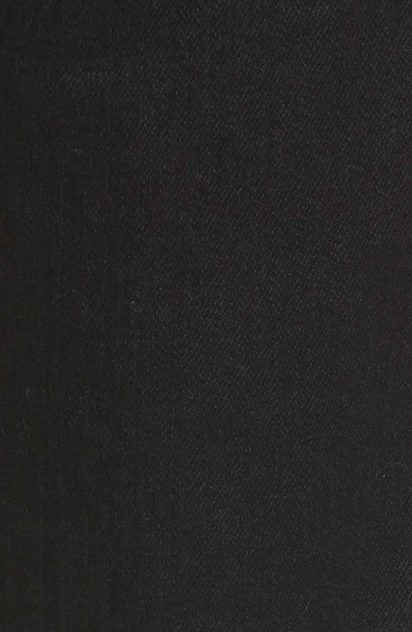 Fit 2 Slim Fit Jeans,                             Alternate thumbnail 5, color,                             BLACK