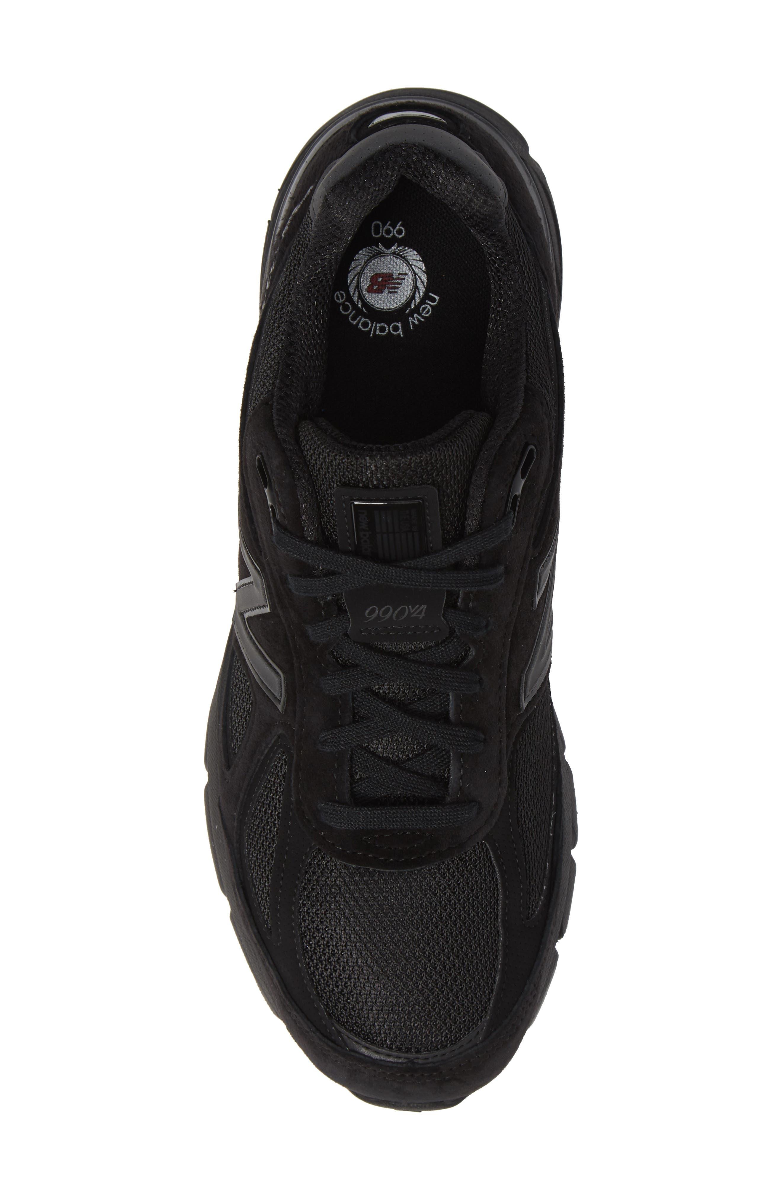 '990' Running Shoe,                             Alternate thumbnail 5, color,                             BLACK/BLACk