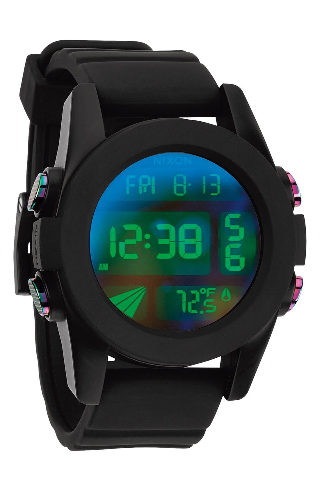 'The Unit' Round Digital Watch, 44mm,                             Alternate thumbnail 41, color,