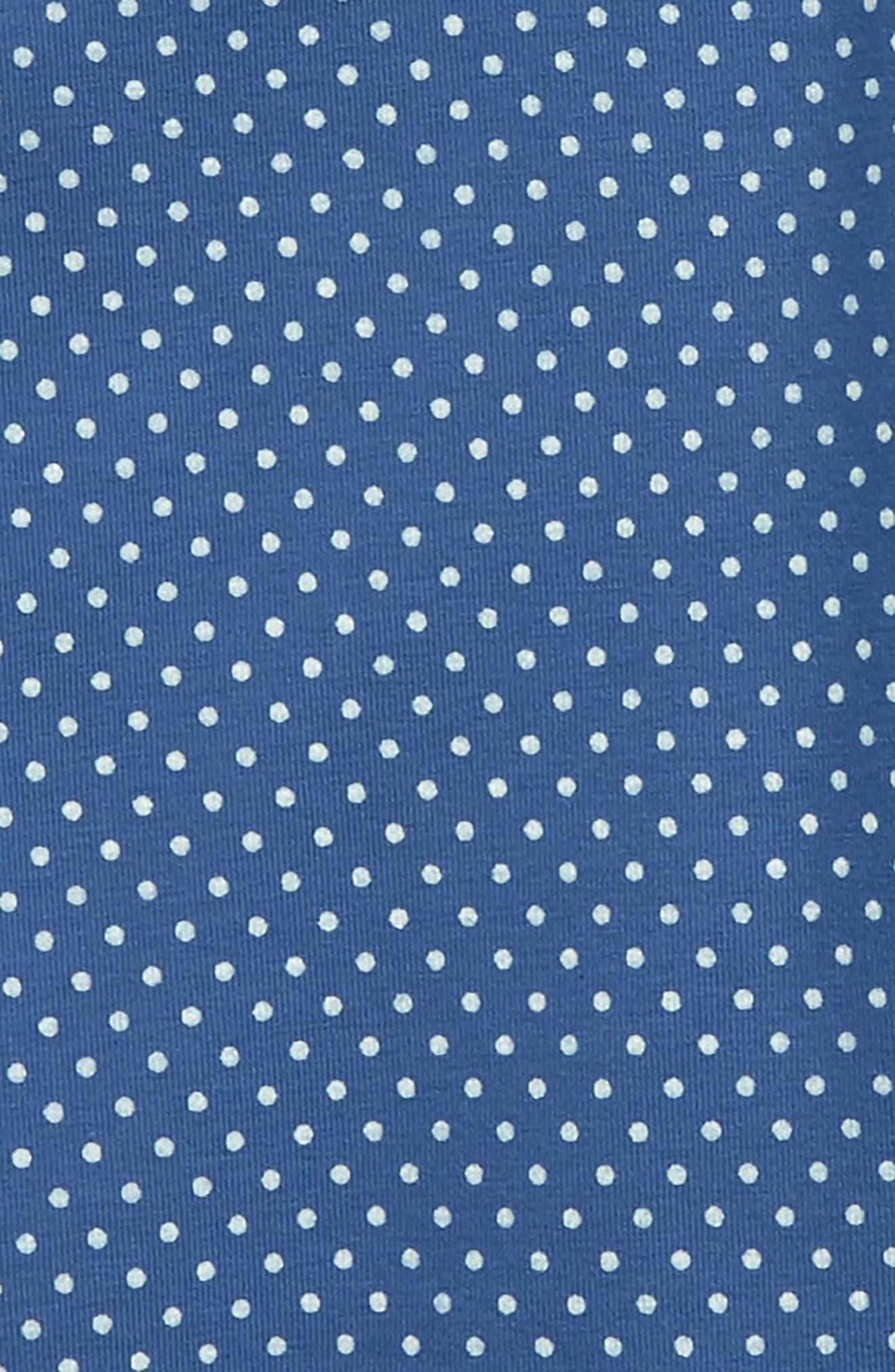 Pin Dot Capri Leggings,                             Alternate thumbnail 2, color,                             415