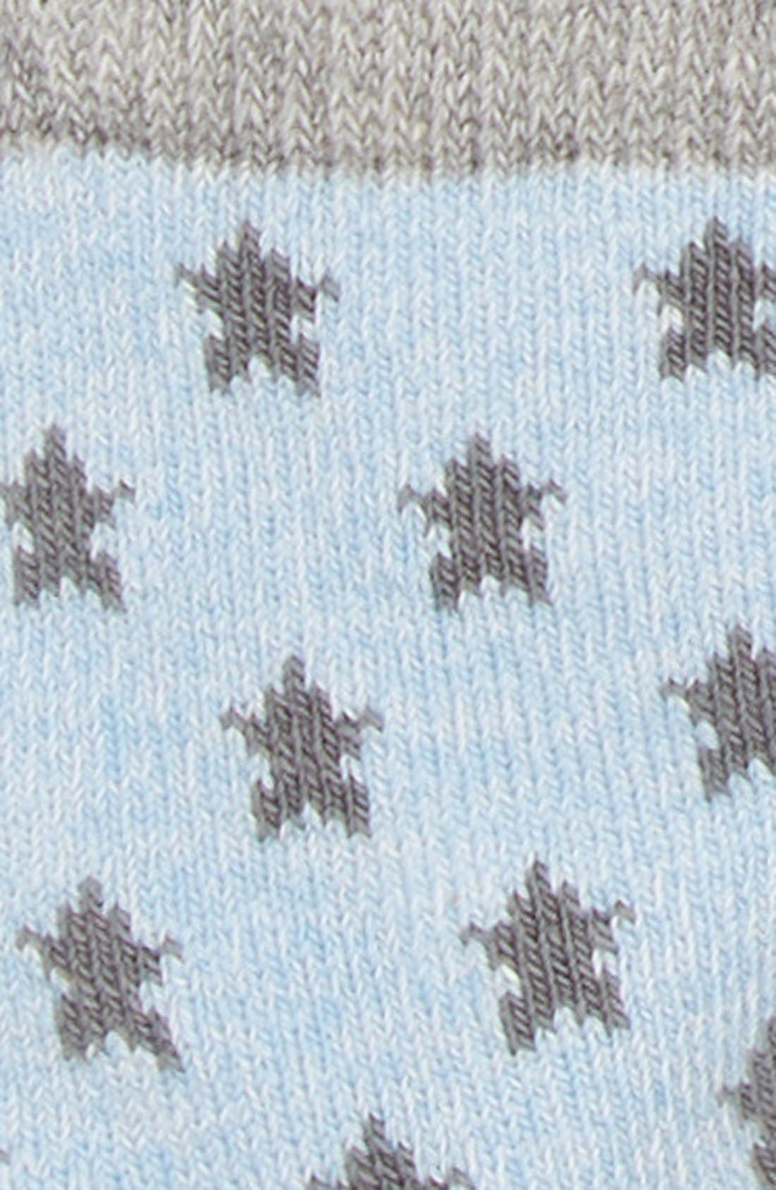Crew Socks,                             Alternate thumbnail 2, color,                             BLUE HEATHER PACK