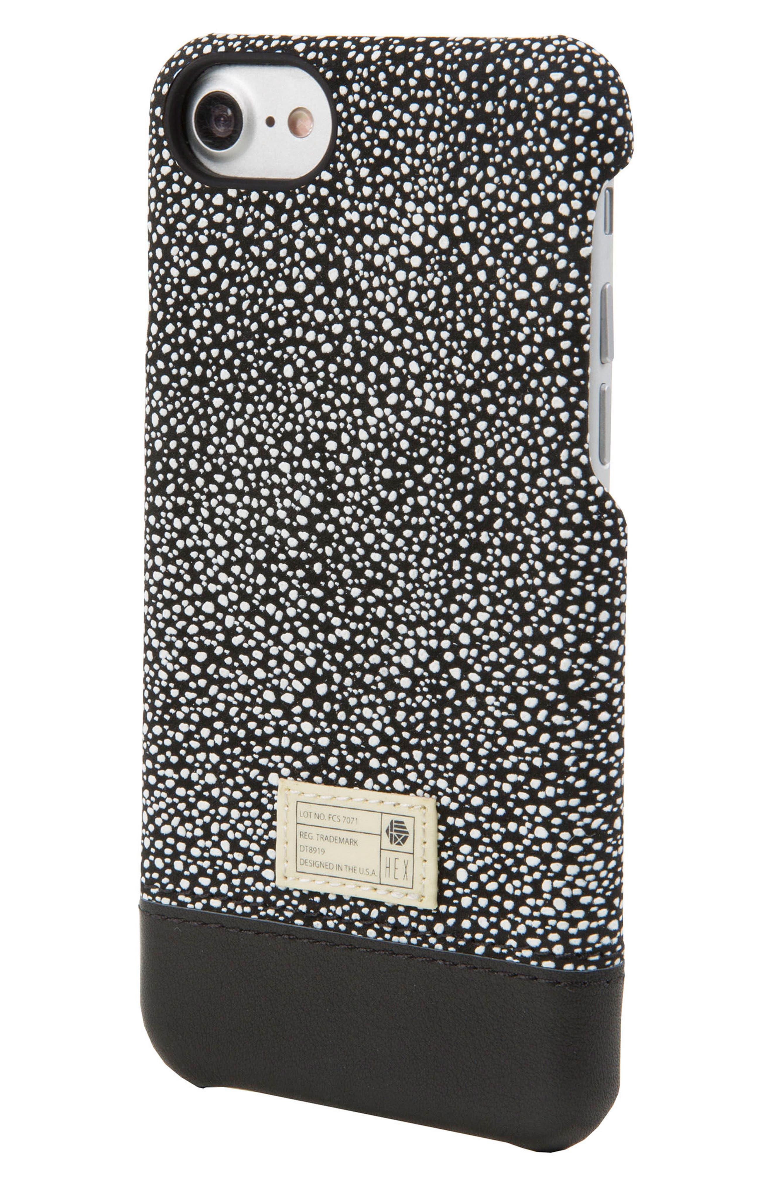 Focus Leather iPhone 6/6s/7/8 Case,                             Main thumbnail 1, color,                             004