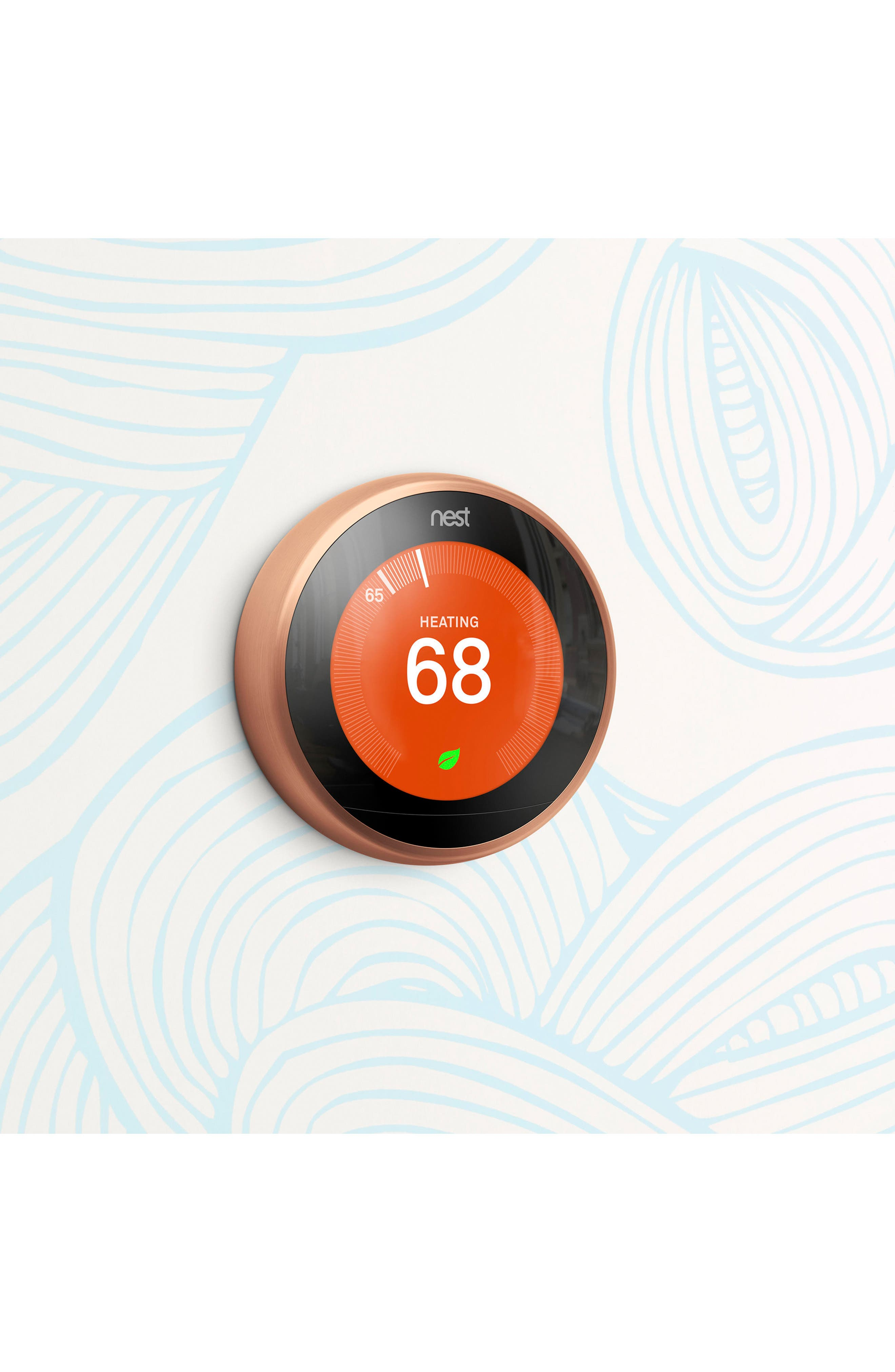 Learning Thermostat,                             Alternate thumbnail 5, color,                             COPPER