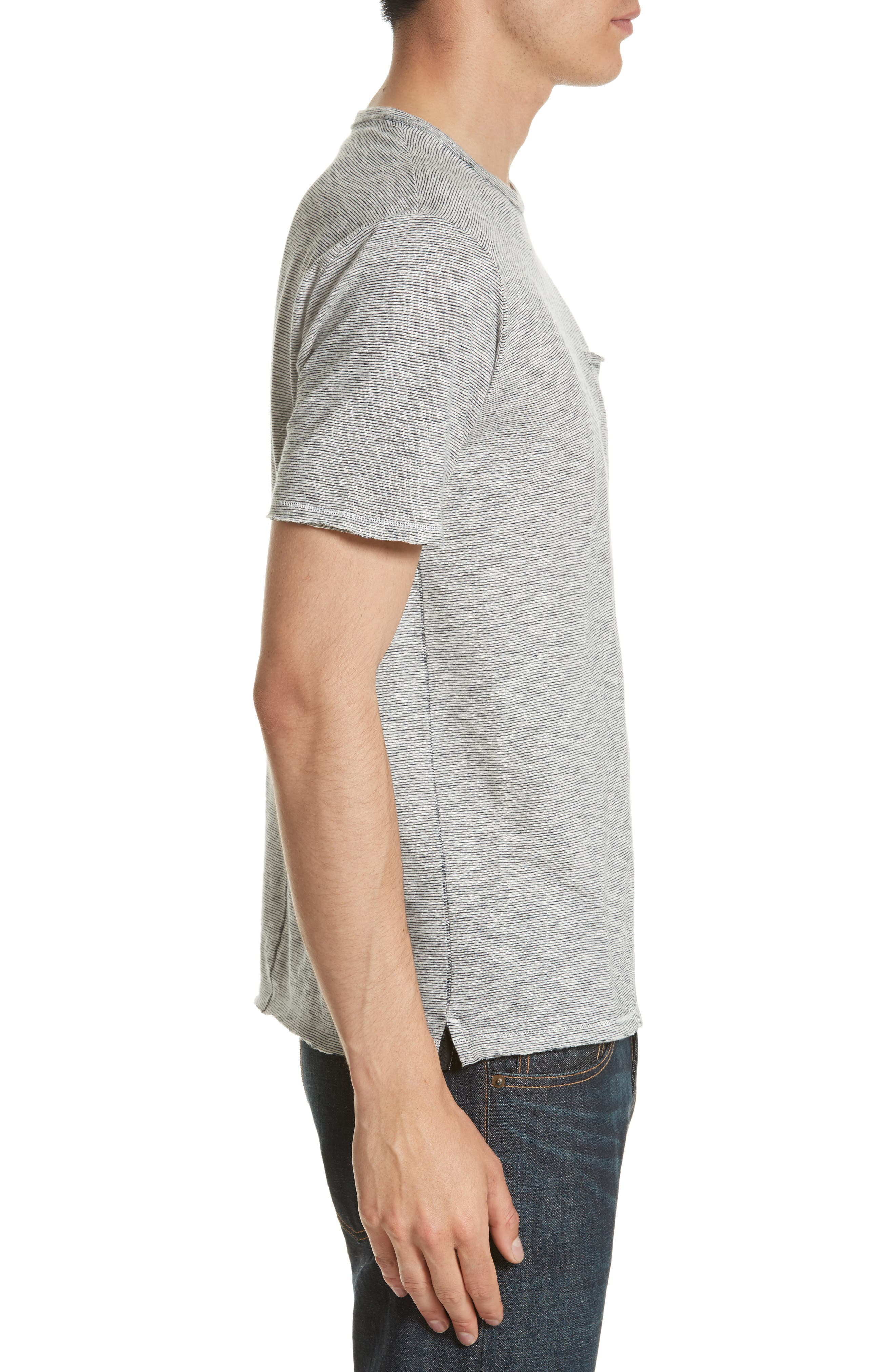 Owen Pocket T-Shirt,                             Alternate thumbnail 8, color,
