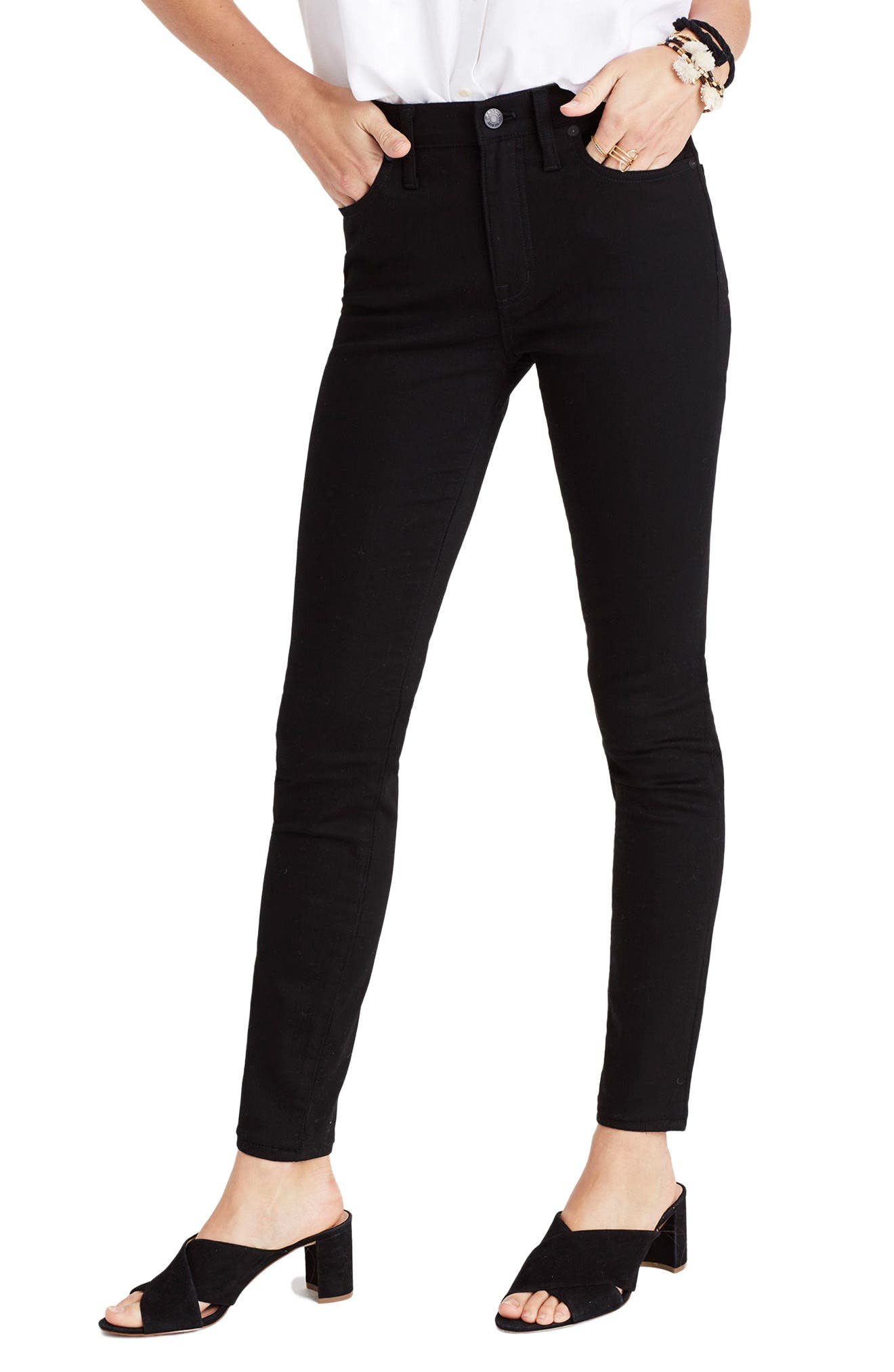 9-Inch High-Rise Skinny Jeans,                             Main thumbnail 1, color,