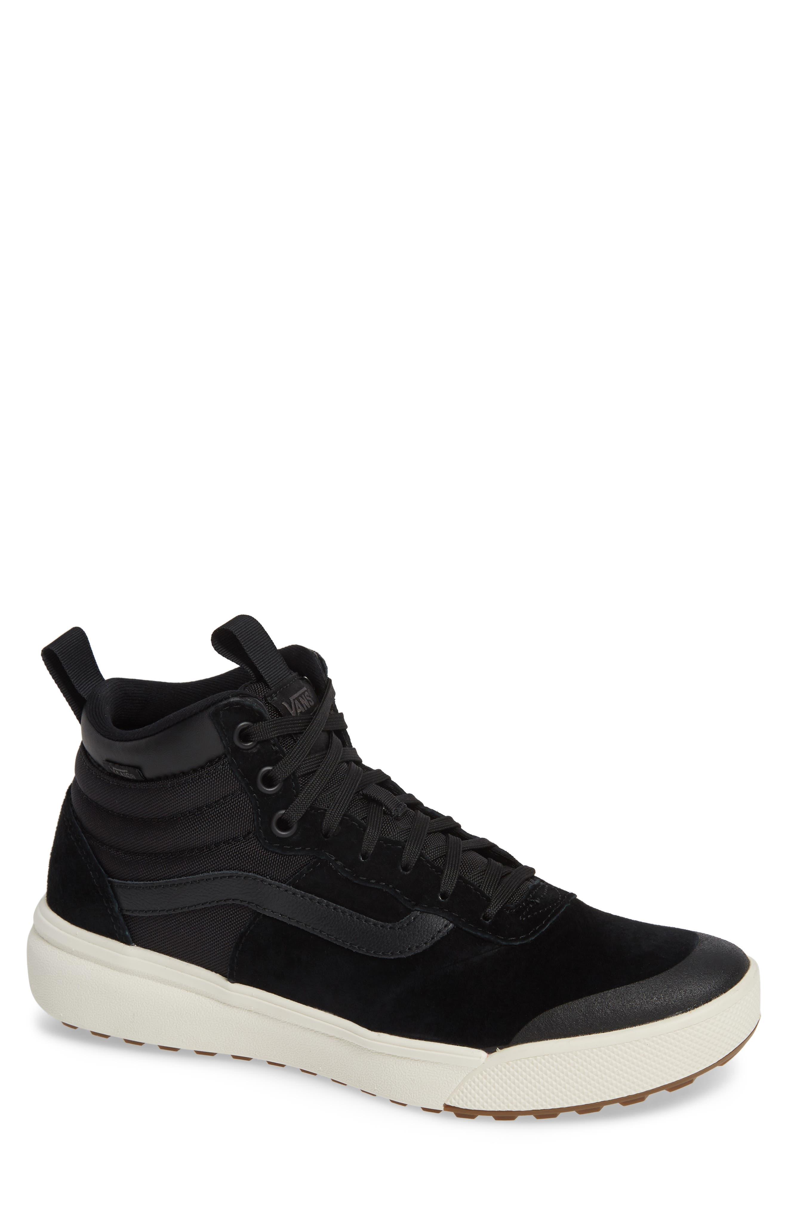 Ultrarange Hi Sneaker,                         Main,                         color, BLACK