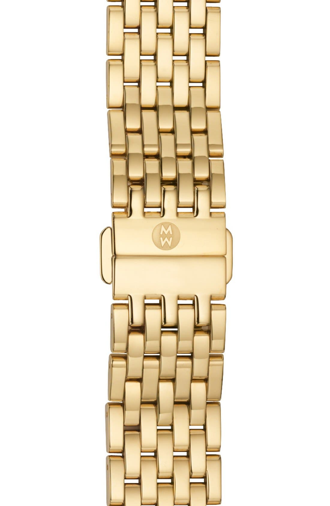 'Serein' 18mm Watch Bracelet Band,                             Main thumbnail 1, color,                             GOLD