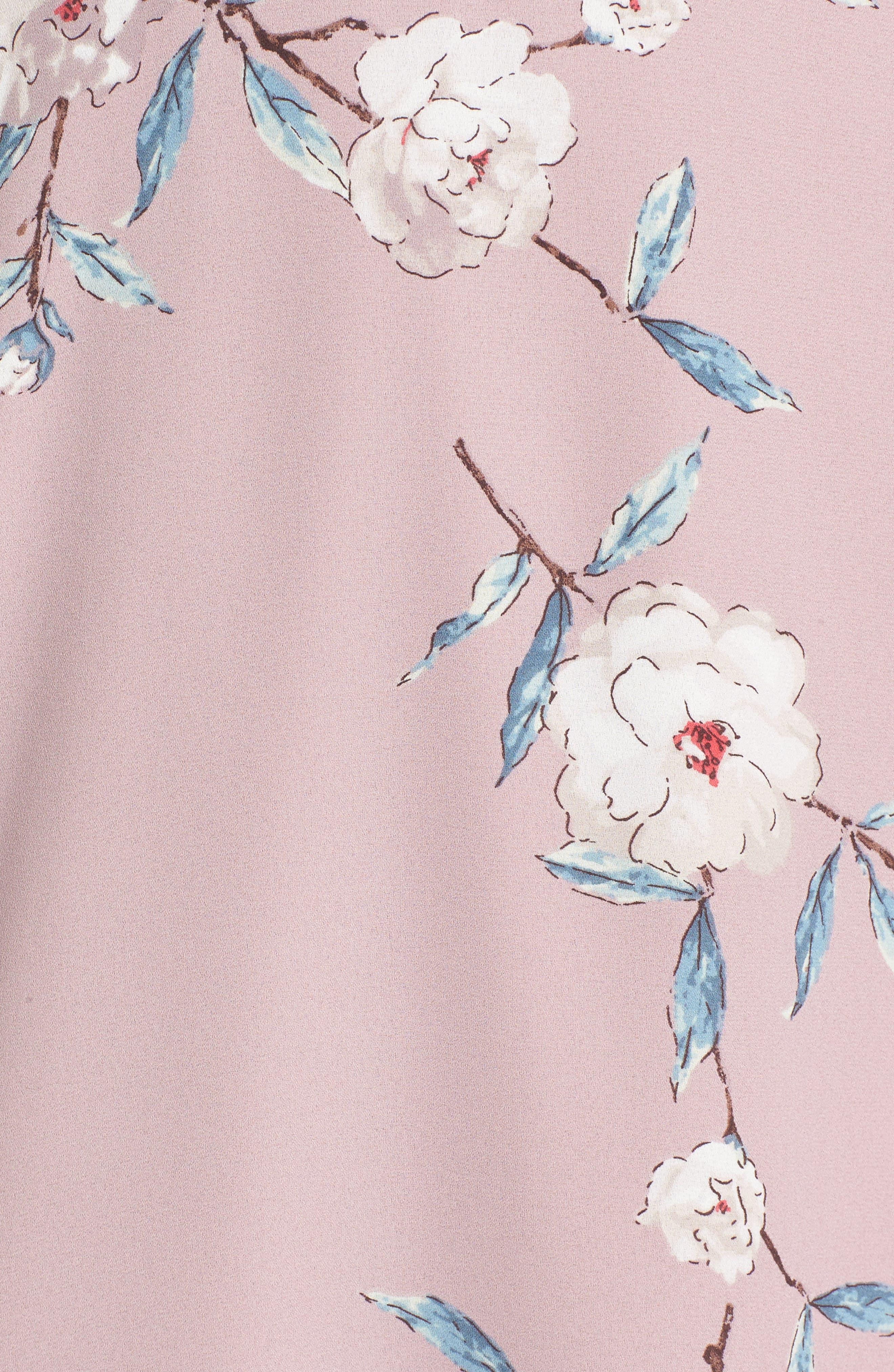 Elly Wrap Dress,                             Alternate thumbnail 55, color,