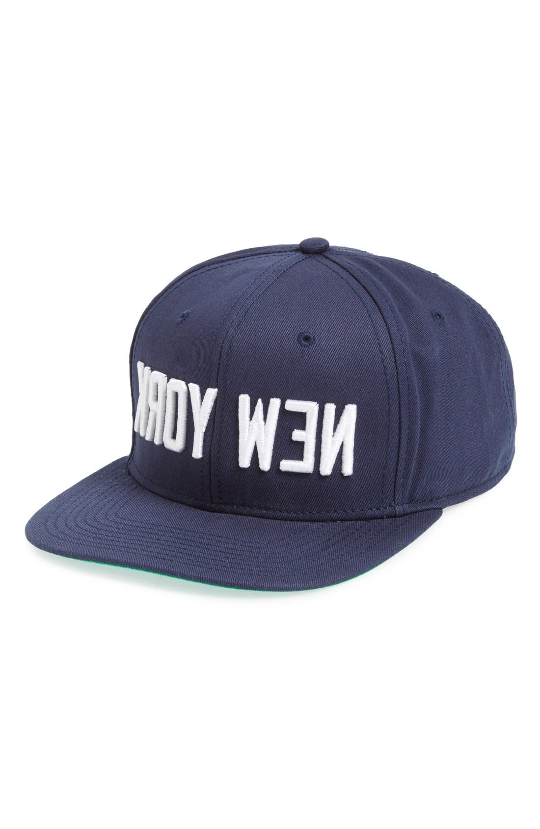 MIGHTY HEALTHY 'Kroy Wen' Snapback Baseball Cap, Main, color, 410