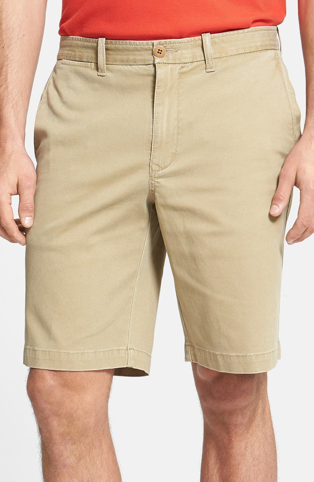 'Bedford & Son' Corduroy Walking Shorts,                             Main thumbnail 1, color,                             200