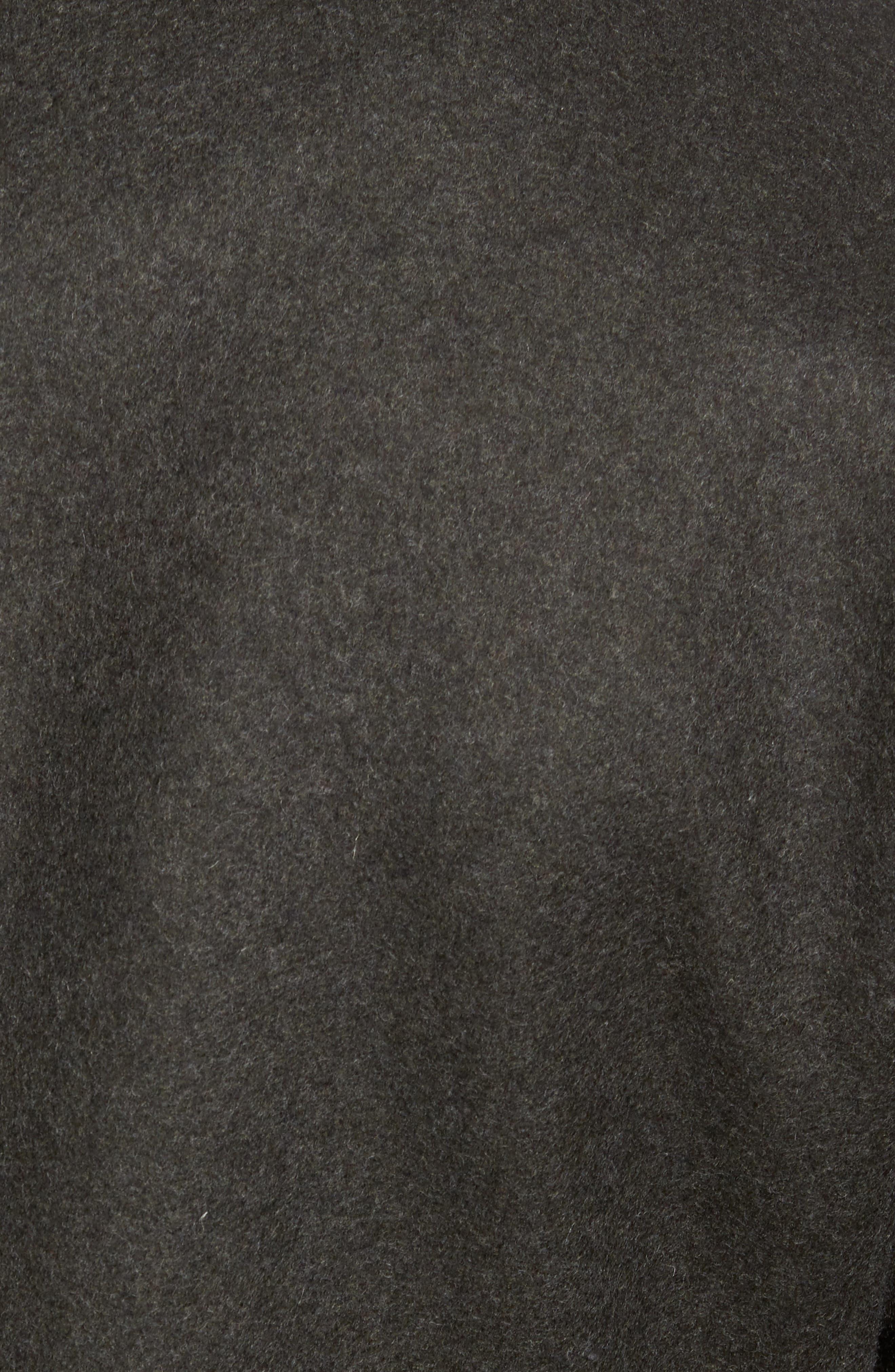 'Bond' Wool Blend Peacoat,                             Alternate thumbnail 6, color,                             315