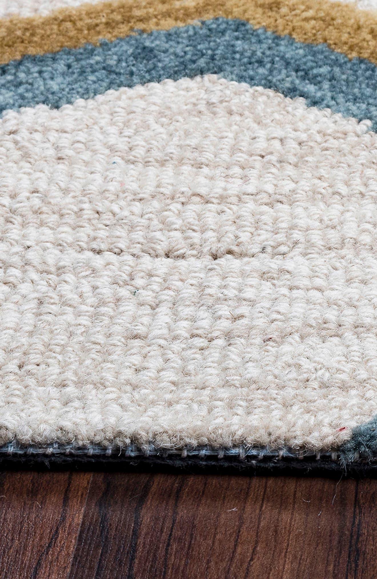'Lancaster Geometric' Hand Tufted Wool Area Rug,                             Alternate thumbnail 3, color,                             020