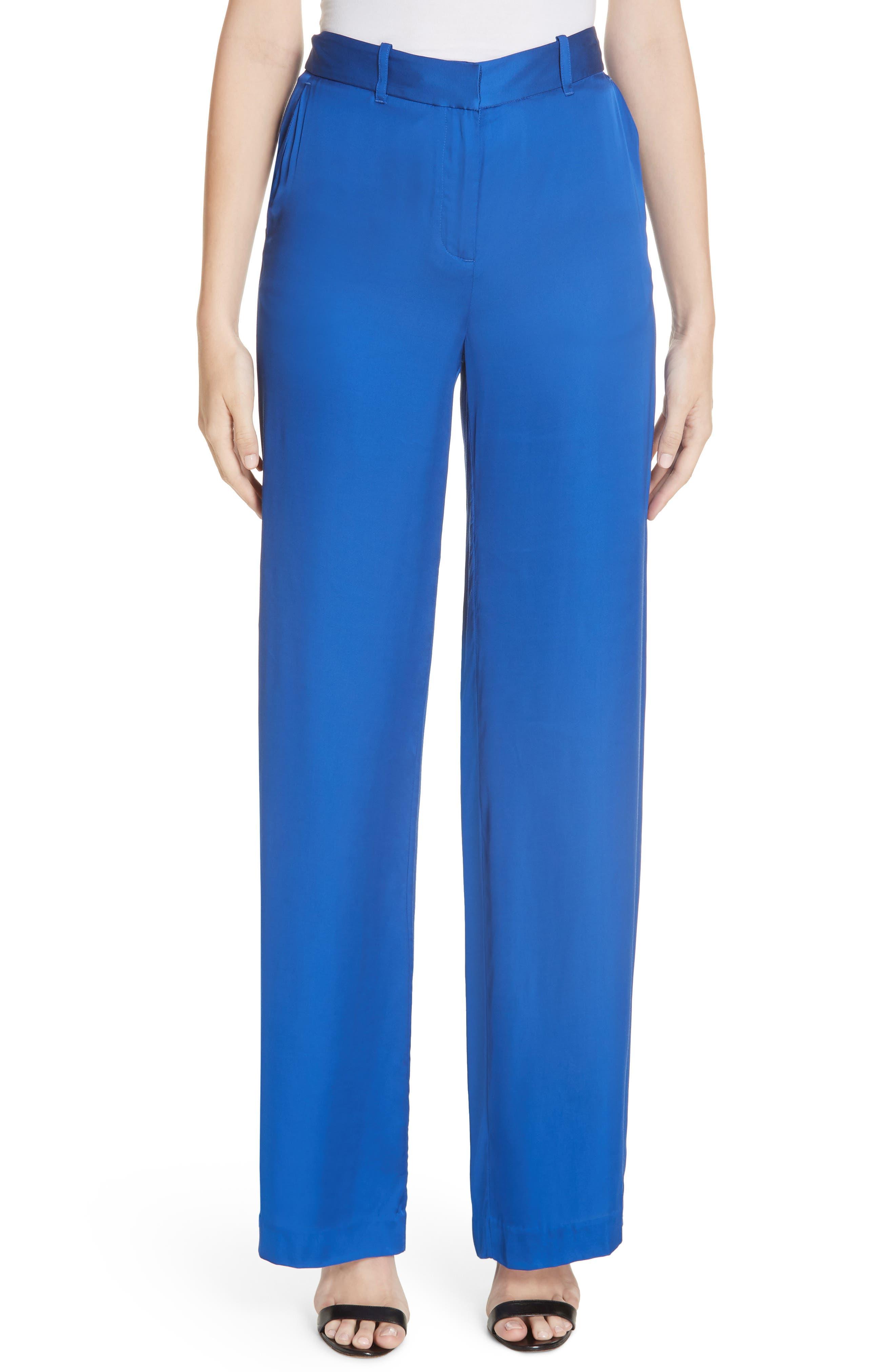 Arwen Trousers,                             Main thumbnail 1, color,                             HYPER BLUE