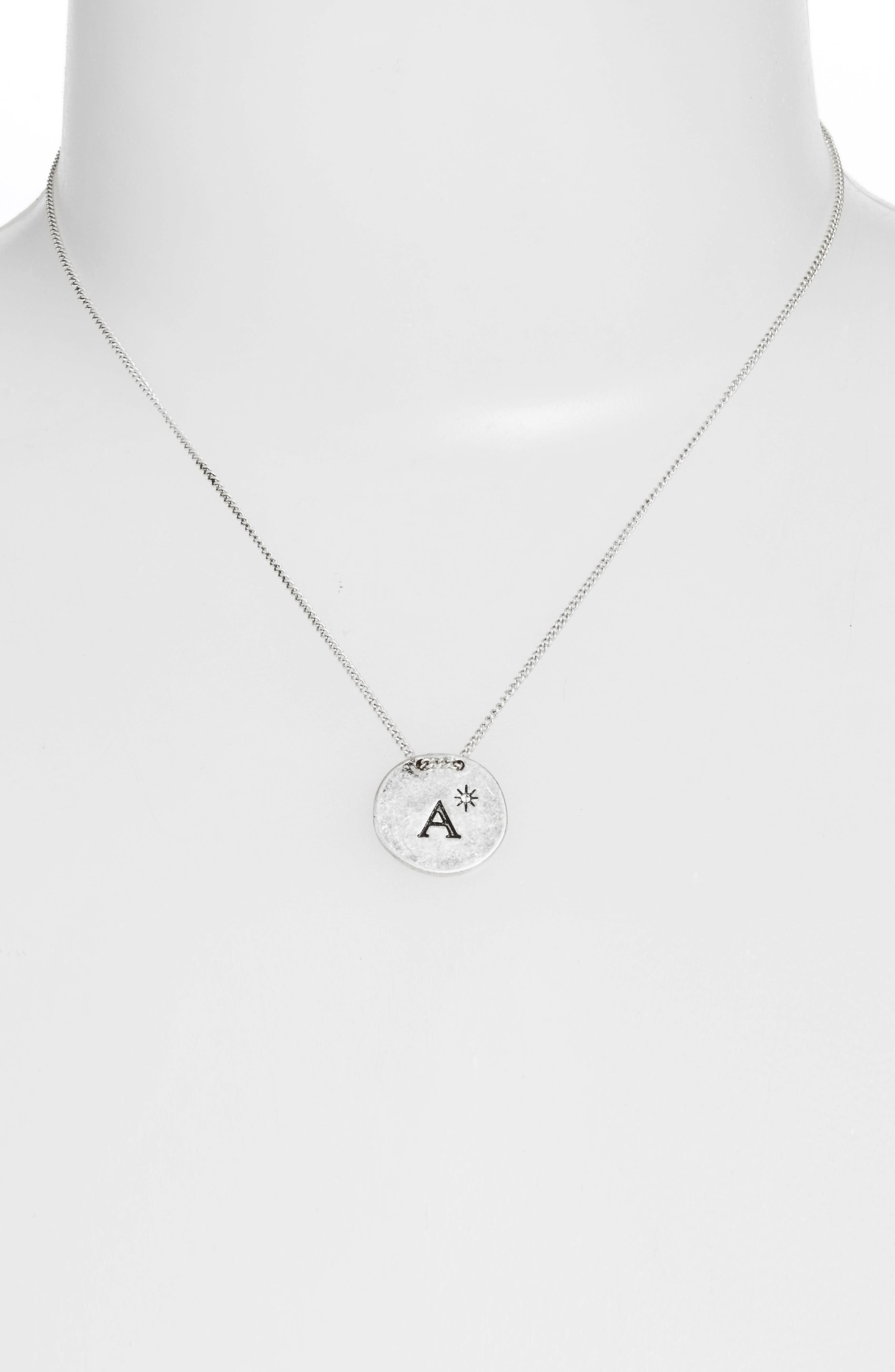 Initial Collar Necklace,                             Alternate thumbnail 40, color,